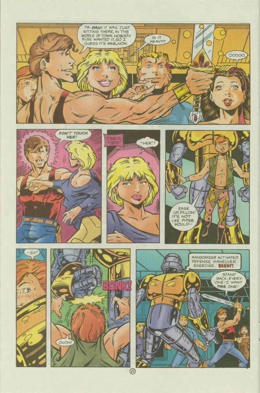Read online Ex-Mutants comic -  Issue #9 - 28