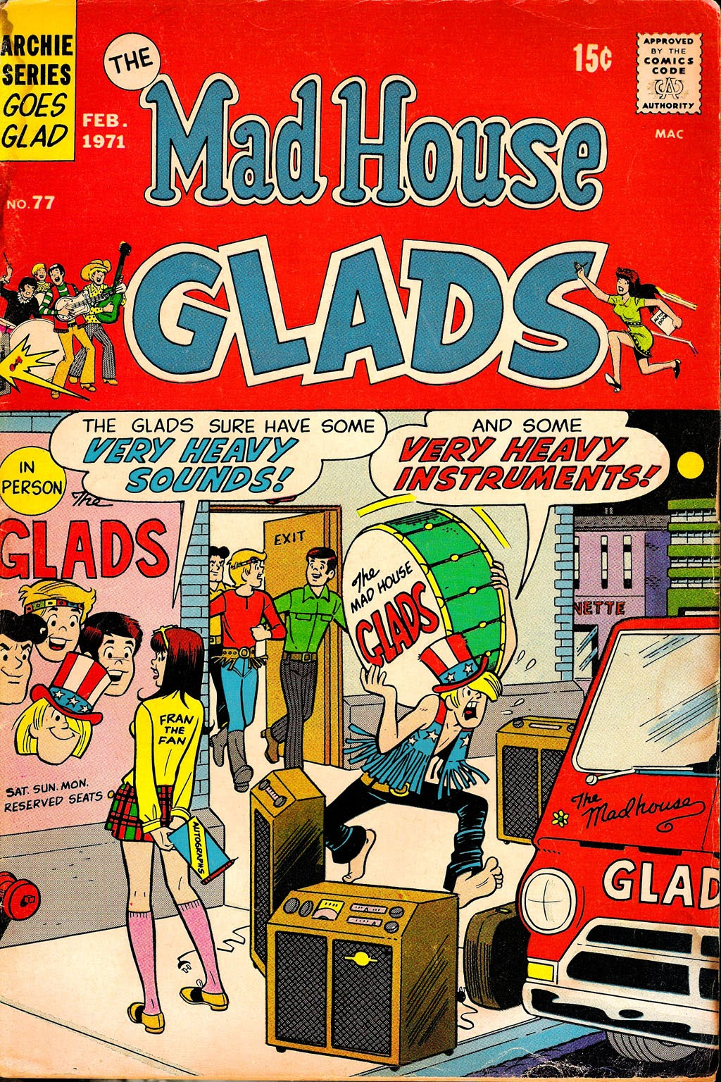 Read online The Mad House Glads comic -  Issue #77 - 1