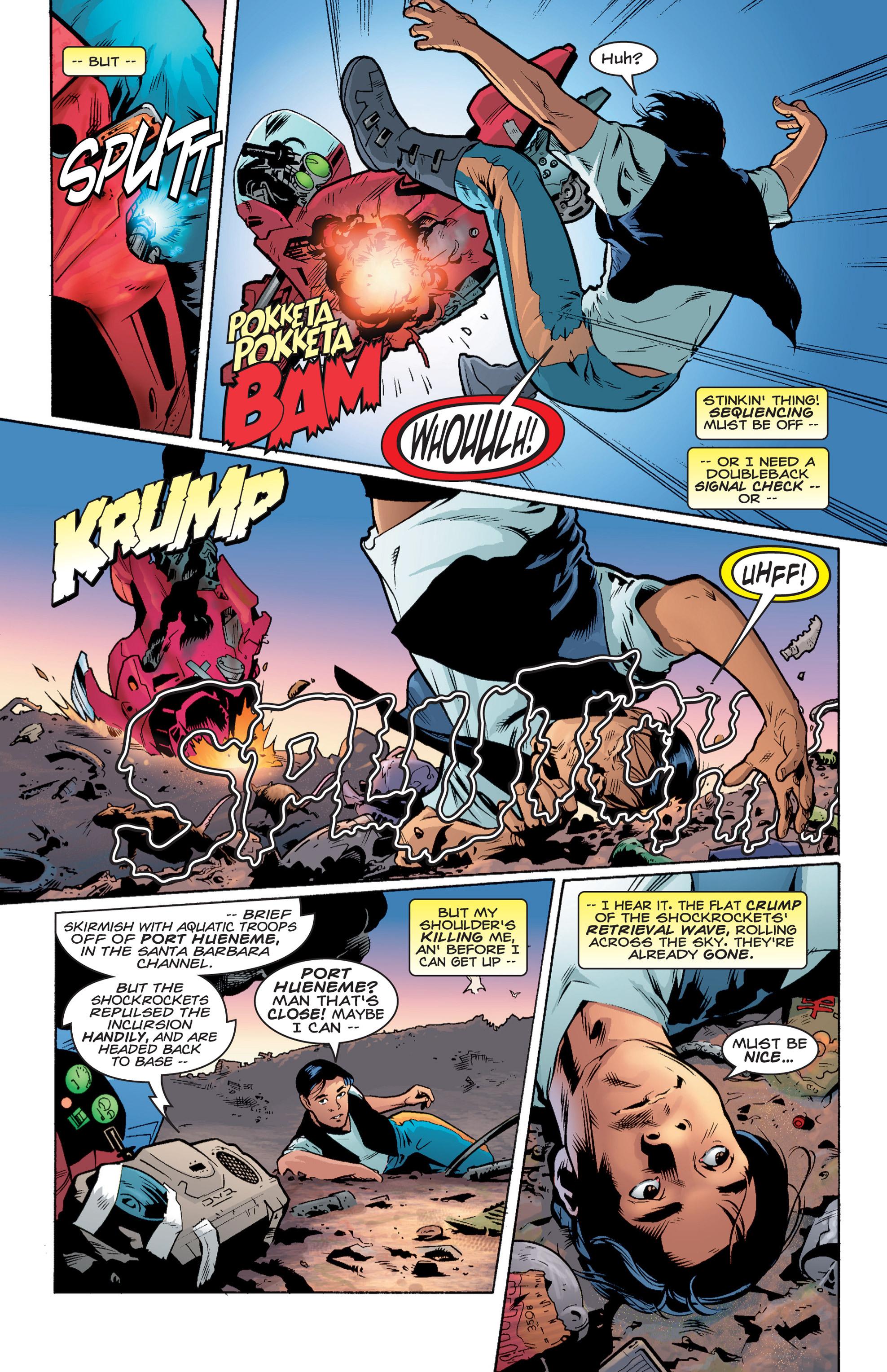 Read online Shockrockets comic -  Issue # TPB - 10