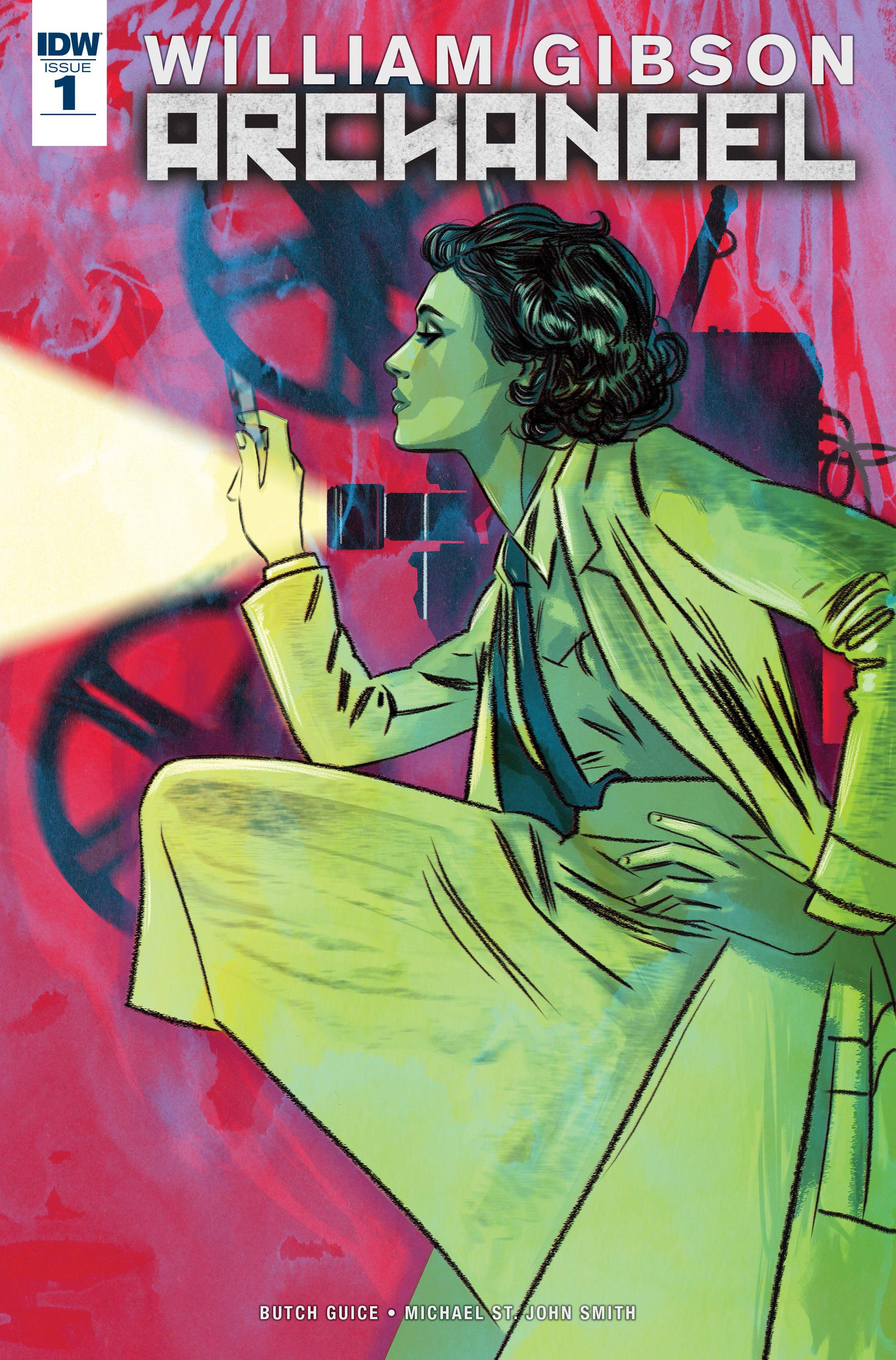 Read online Archangel (2016) comic -  Issue #1 - 1
