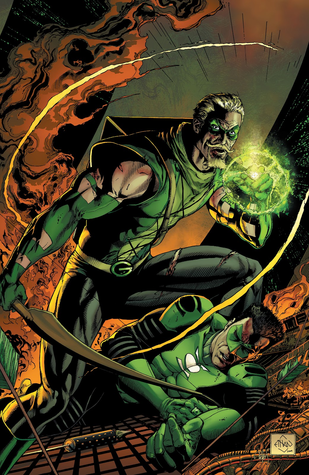 Read online Green Lantern by Geoff Johns comic -  Issue # TPB 1 (Part 1) - 89
