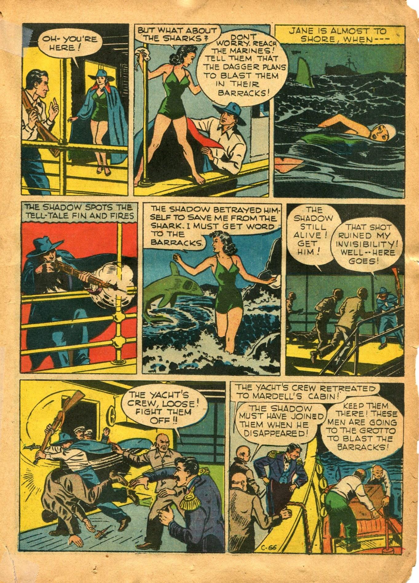 Read online Shadow Comics comic -  Issue #12 - 27
