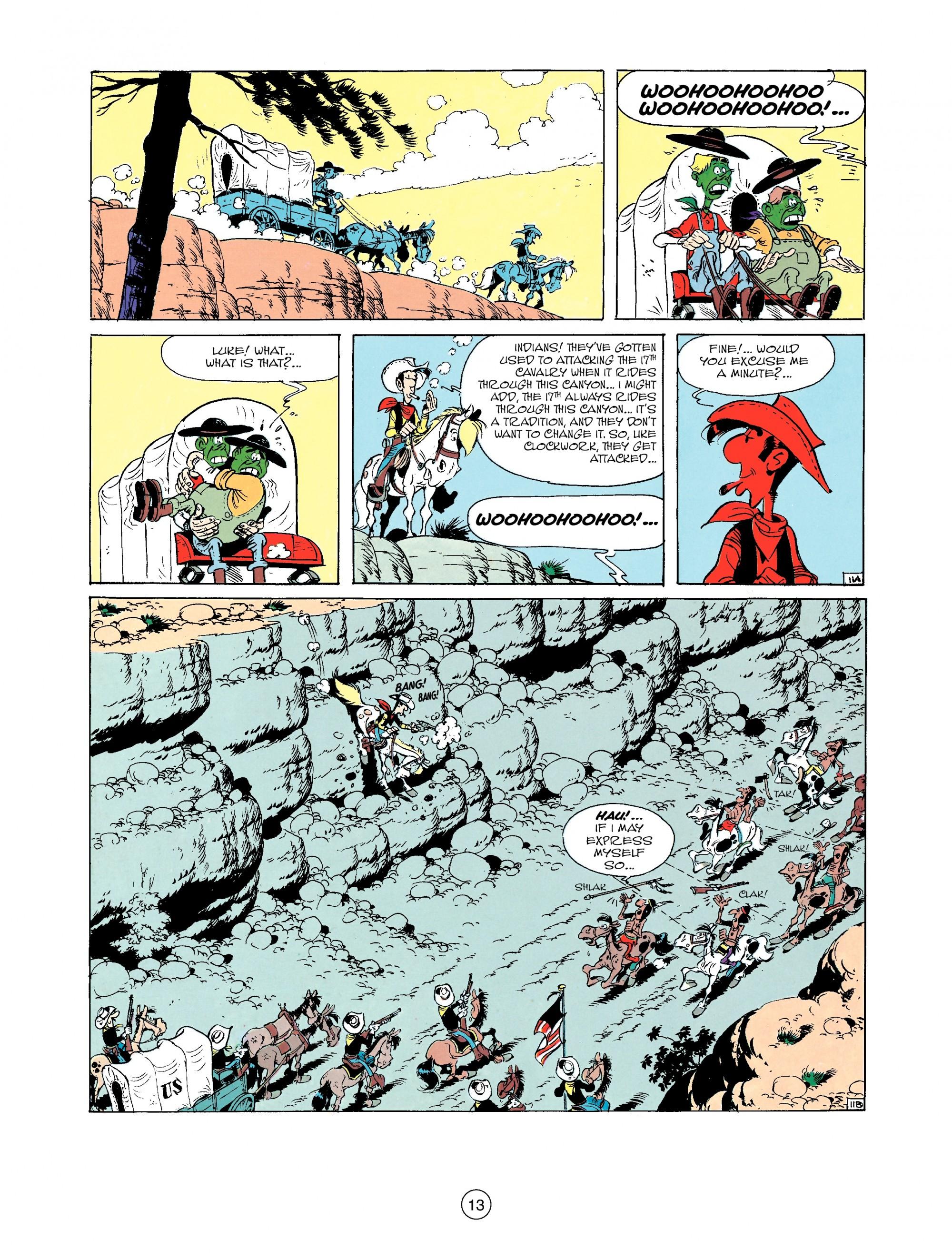 Read online A Lucky Luke Adventure comic -  Issue #33 - 13