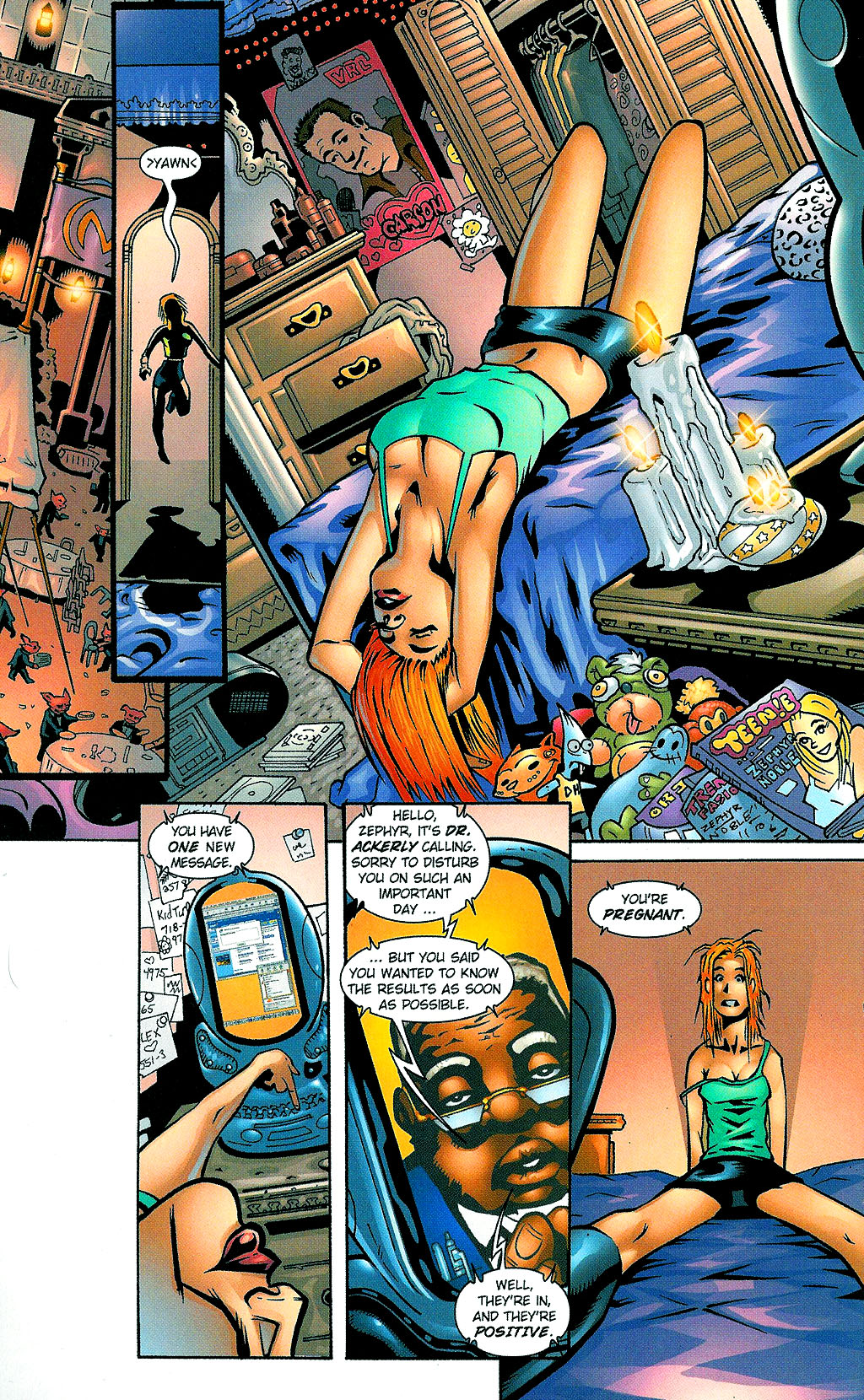 Read online Noble Causes (2002) comic -  Issue #1 - 16