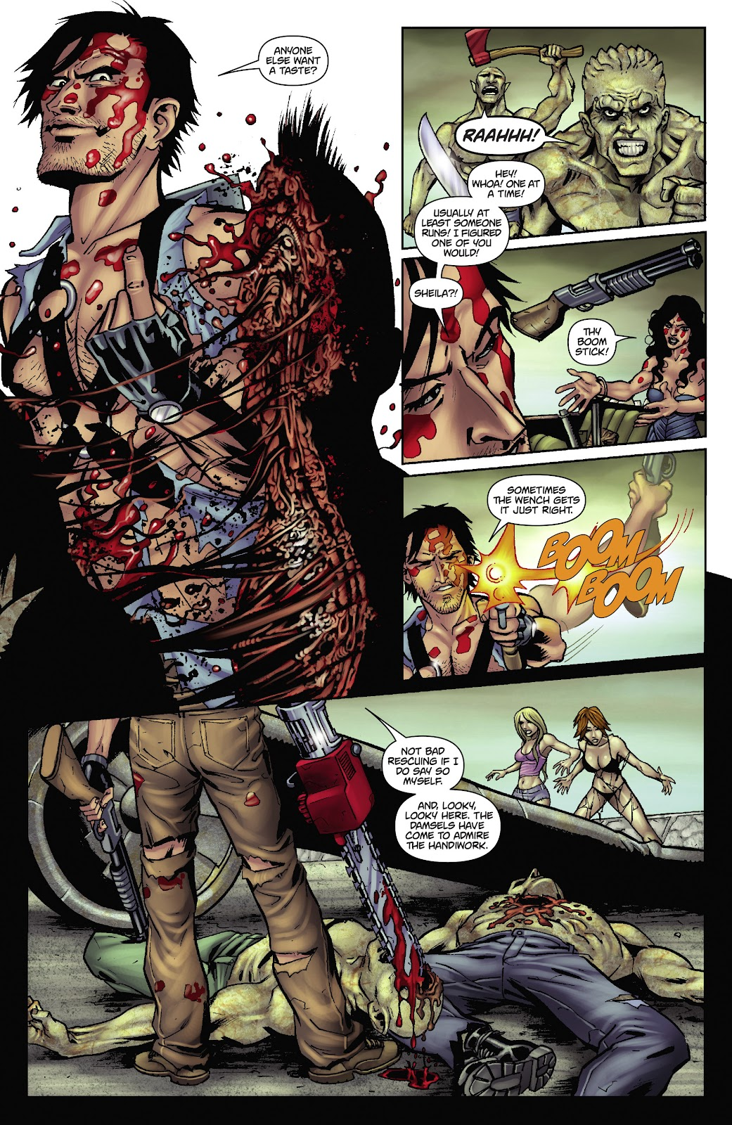 Army of Darkness: The Long Road Home issue TPB - Page 37