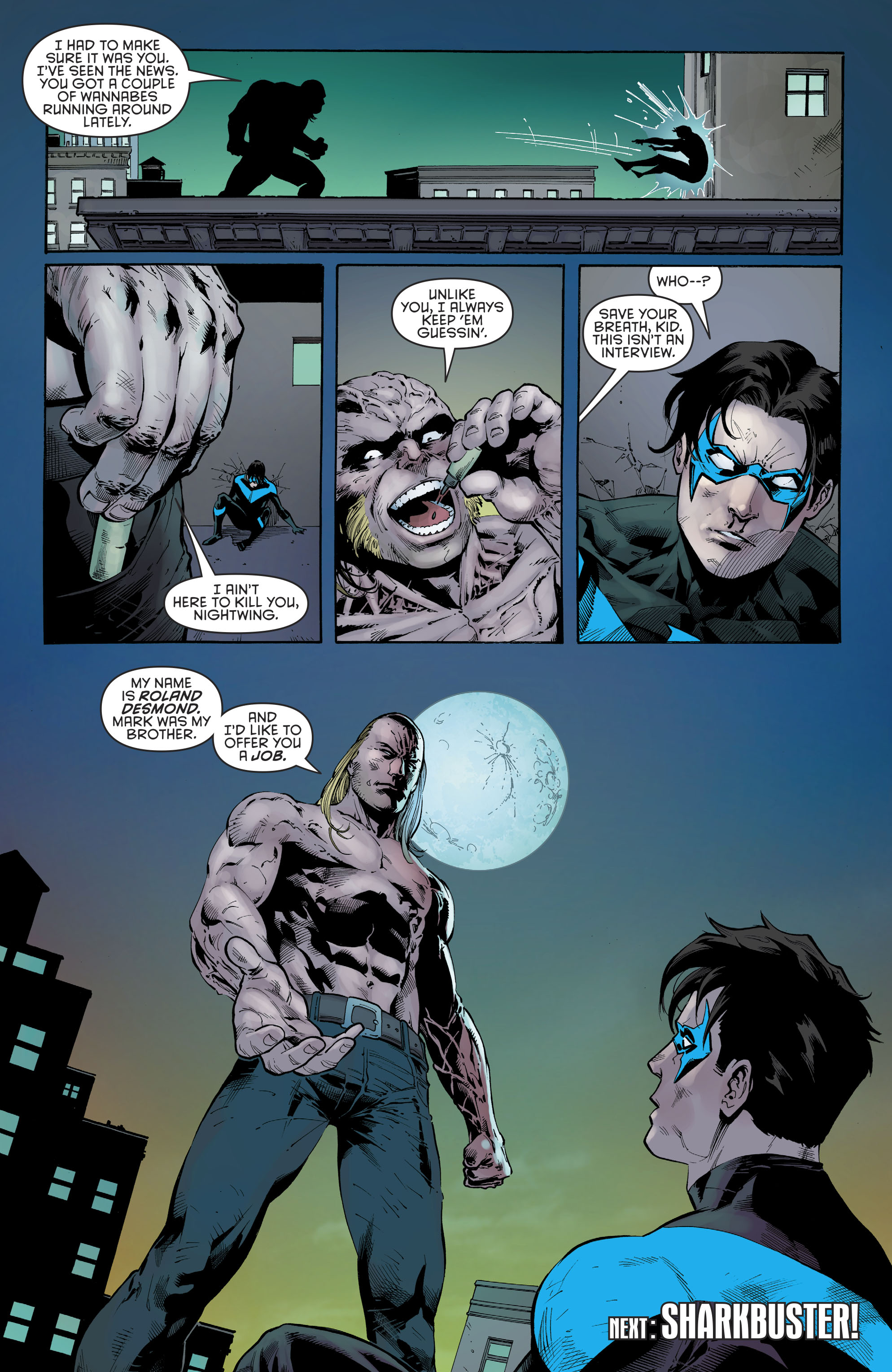 Read online Nightwing (2016) comic -  Issue #22 - 22