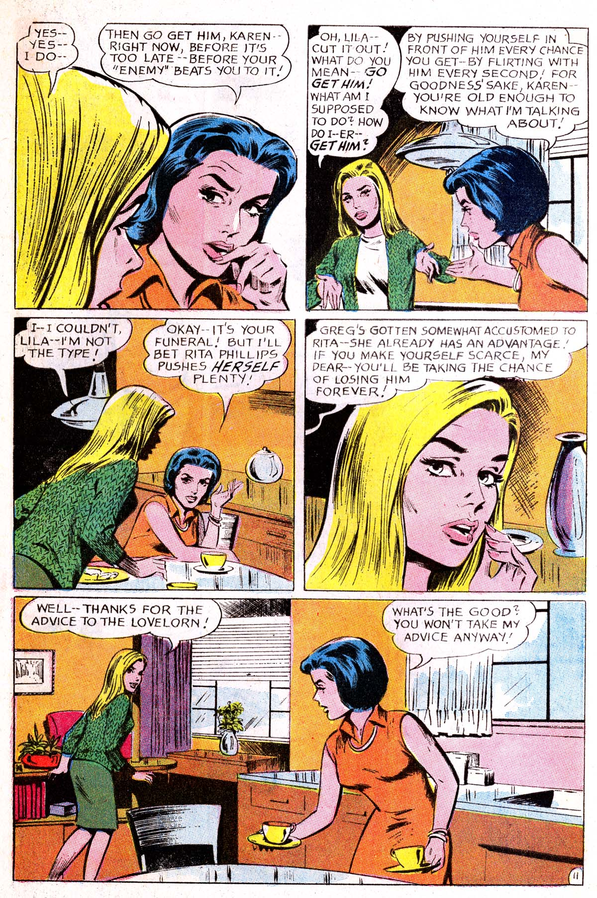 Read online Secret Hearts comic -  Issue #114 - 28