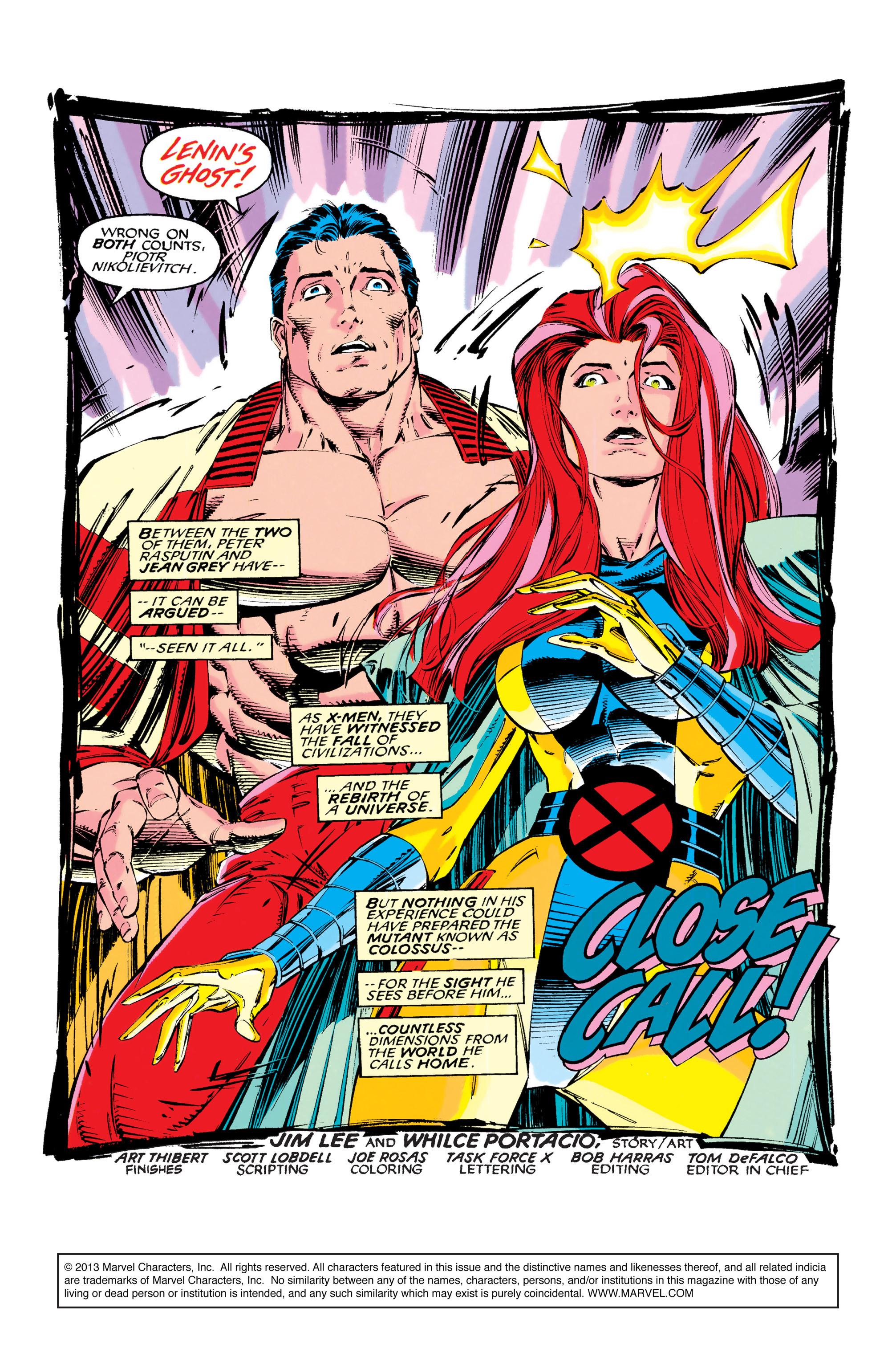 Read online Uncanny X-Men (1963) comic -  Issue #286 - 2