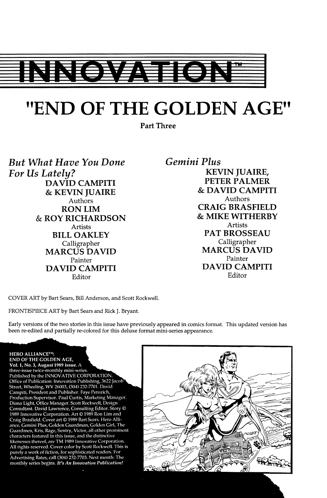 Read online Hero Alliance: End of Golden Age comic -  Issue #3 - 2