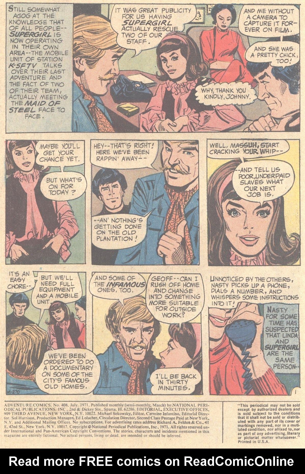 Read online Adventure Comics (1938) comic -  Issue #408 - 3