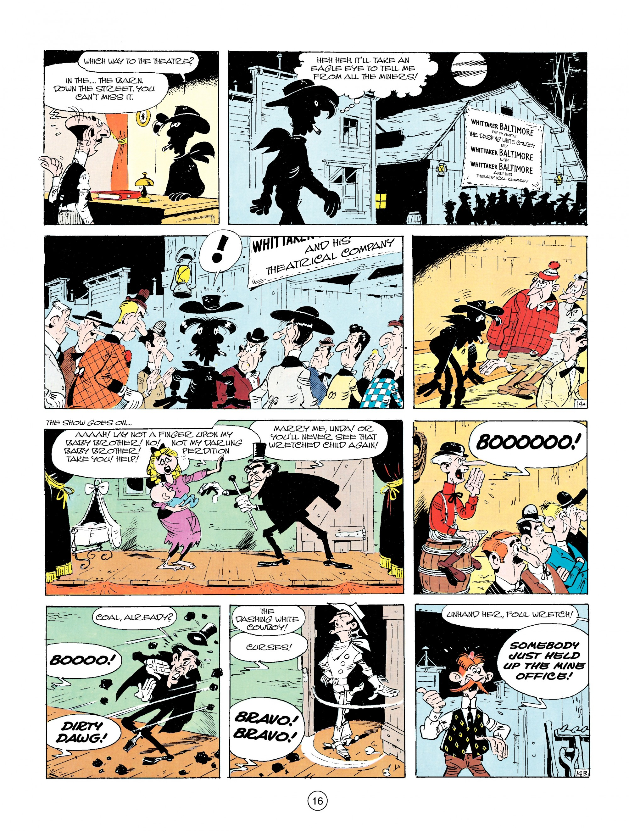 Read online A Lucky Luke Adventure comic -  Issue #14 - 16