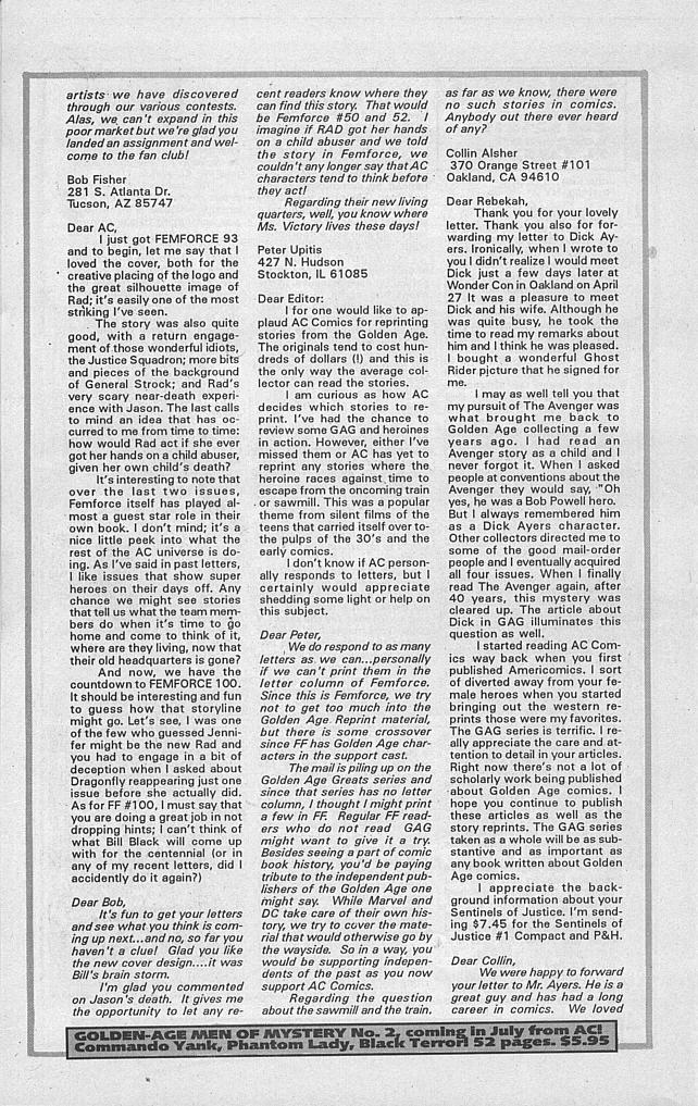 Femforce Issue #94 #94 - English 26