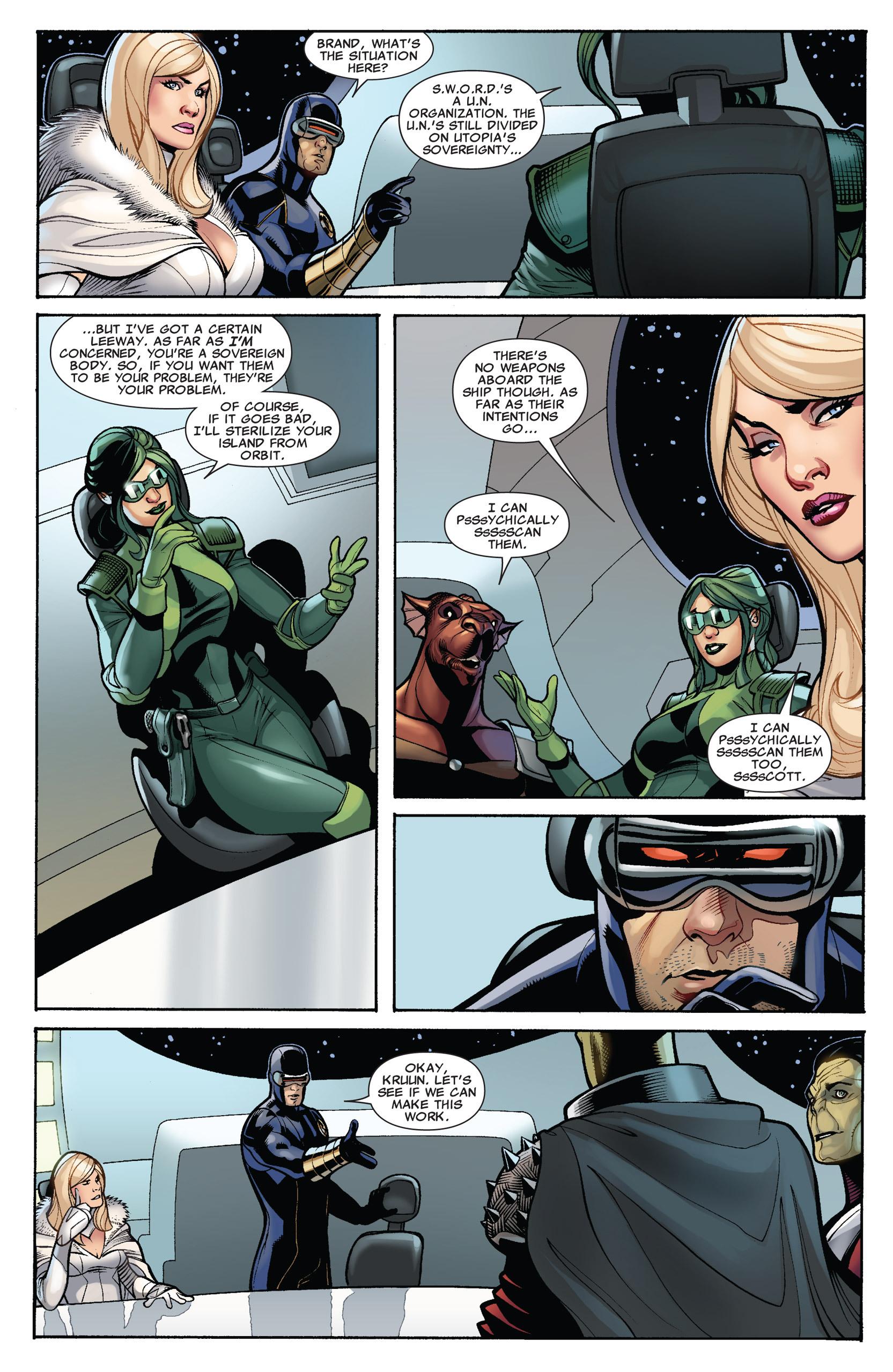 Read online Uncanny X-Men (1963) comic -  Issue #536 - 6