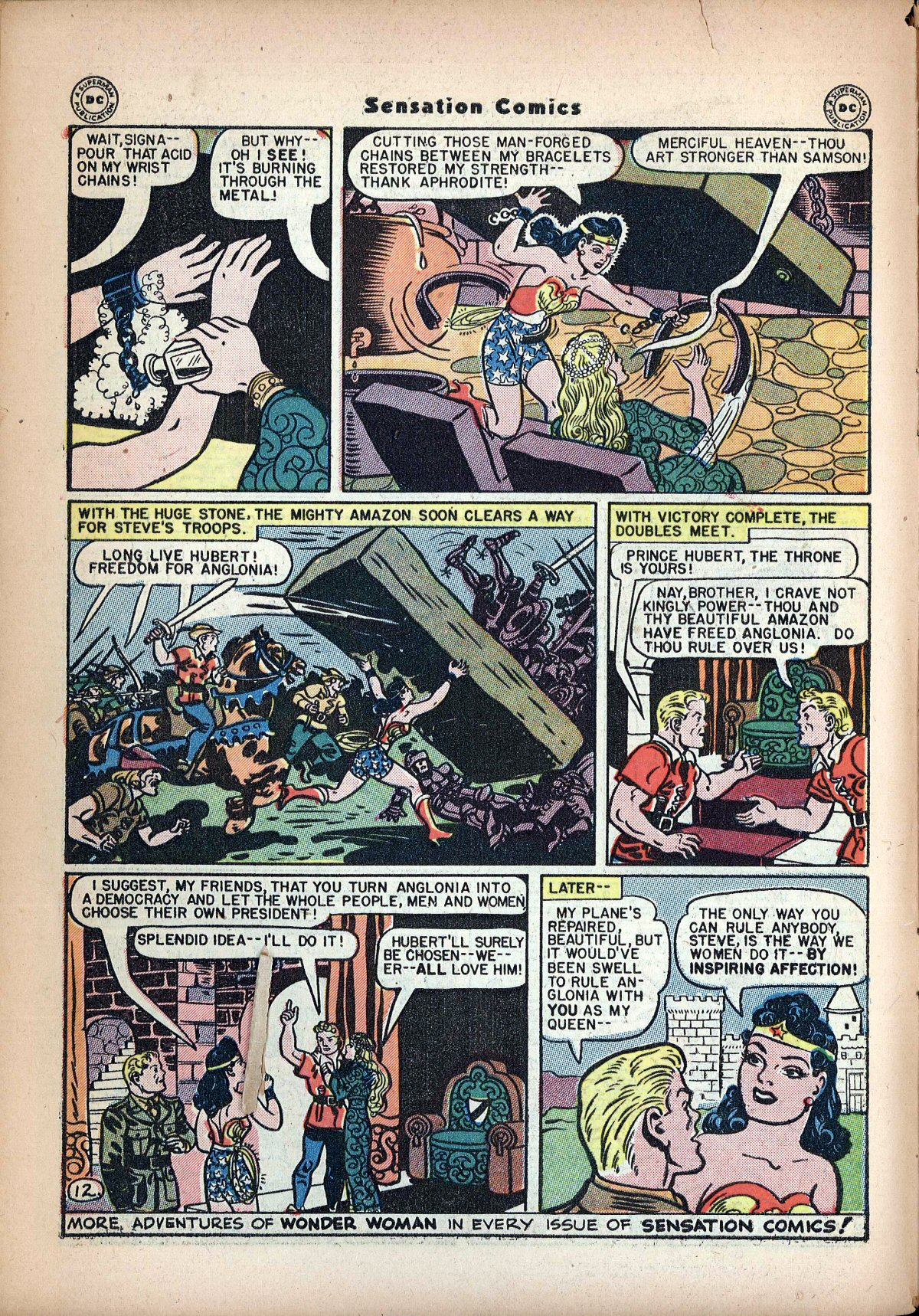 Read online Sensation (Mystery) Comics comic -  Issue #62 - 14