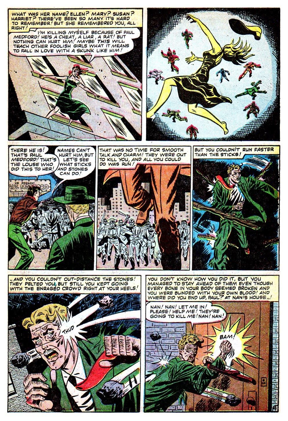 Read online Adventures into Weird Worlds comic -  Issue #8 - 25