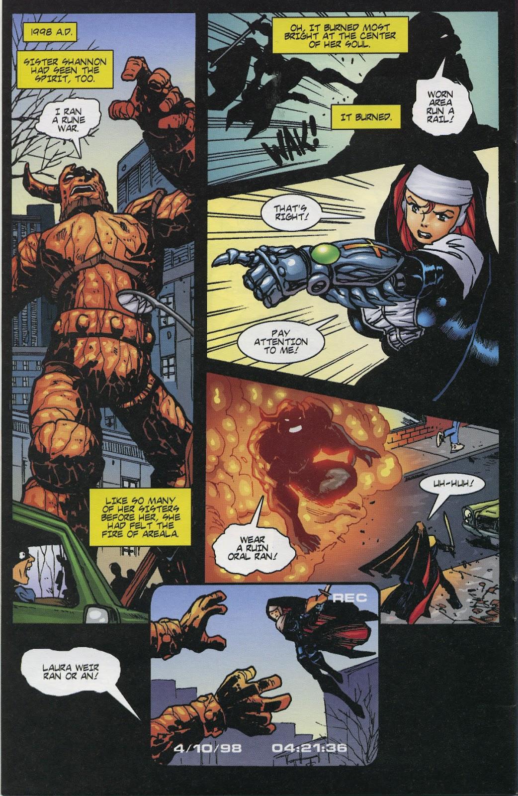 Warrior Nun Areala (1997) Issue #6 #6 - English 20