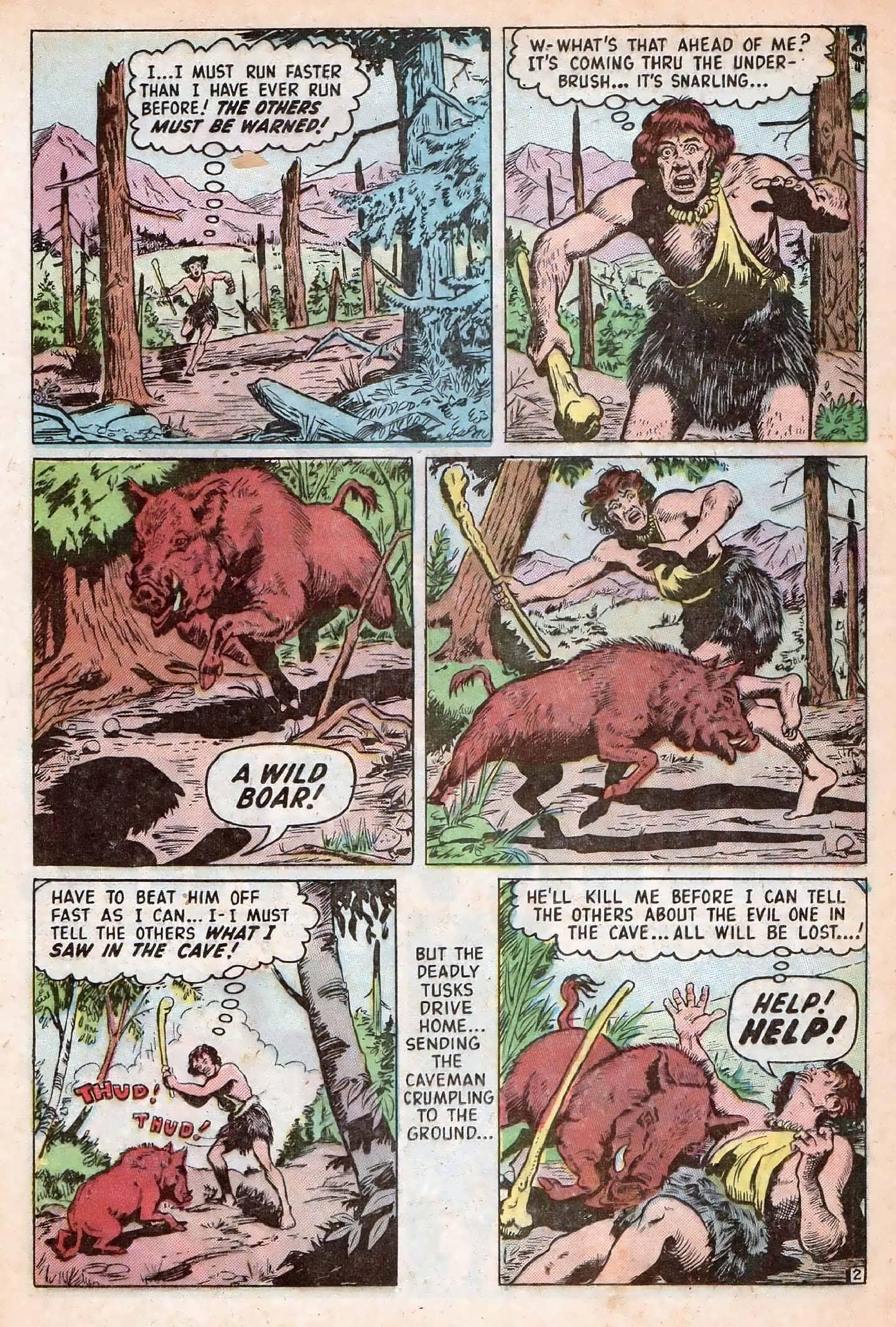 Read online Adventures into Weird Worlds comic -  Issue #20 - 24