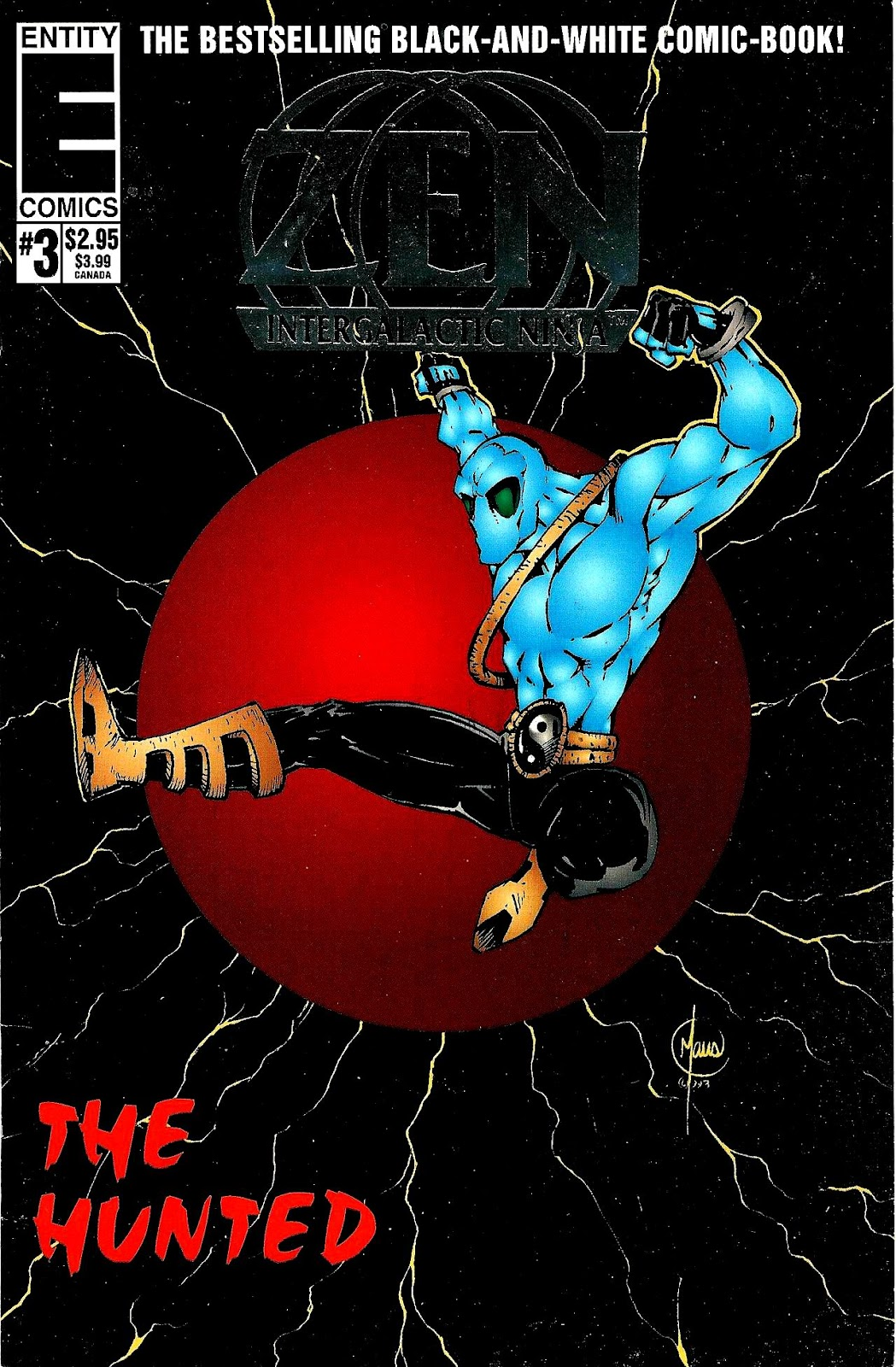Zen Intergalactic Ninja : The Hunted 3 Page 1
