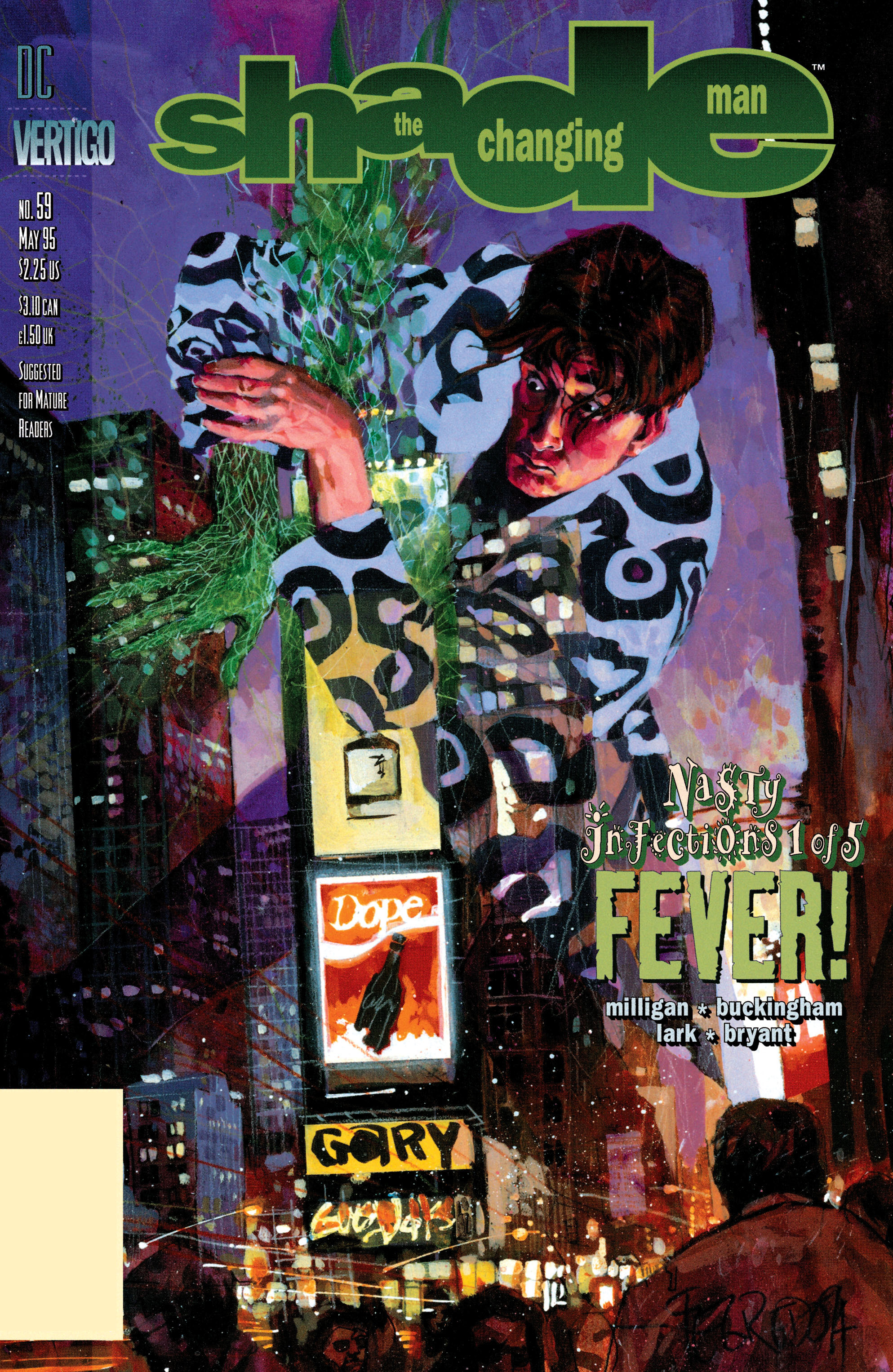Read online Shade, the Changing Man comic -  Issue #59 - 1