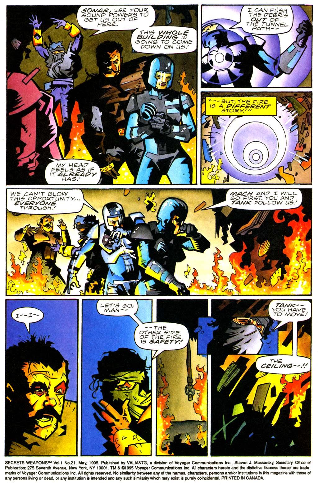 Read online Secret Weapons comic -  Issue #21 - 4