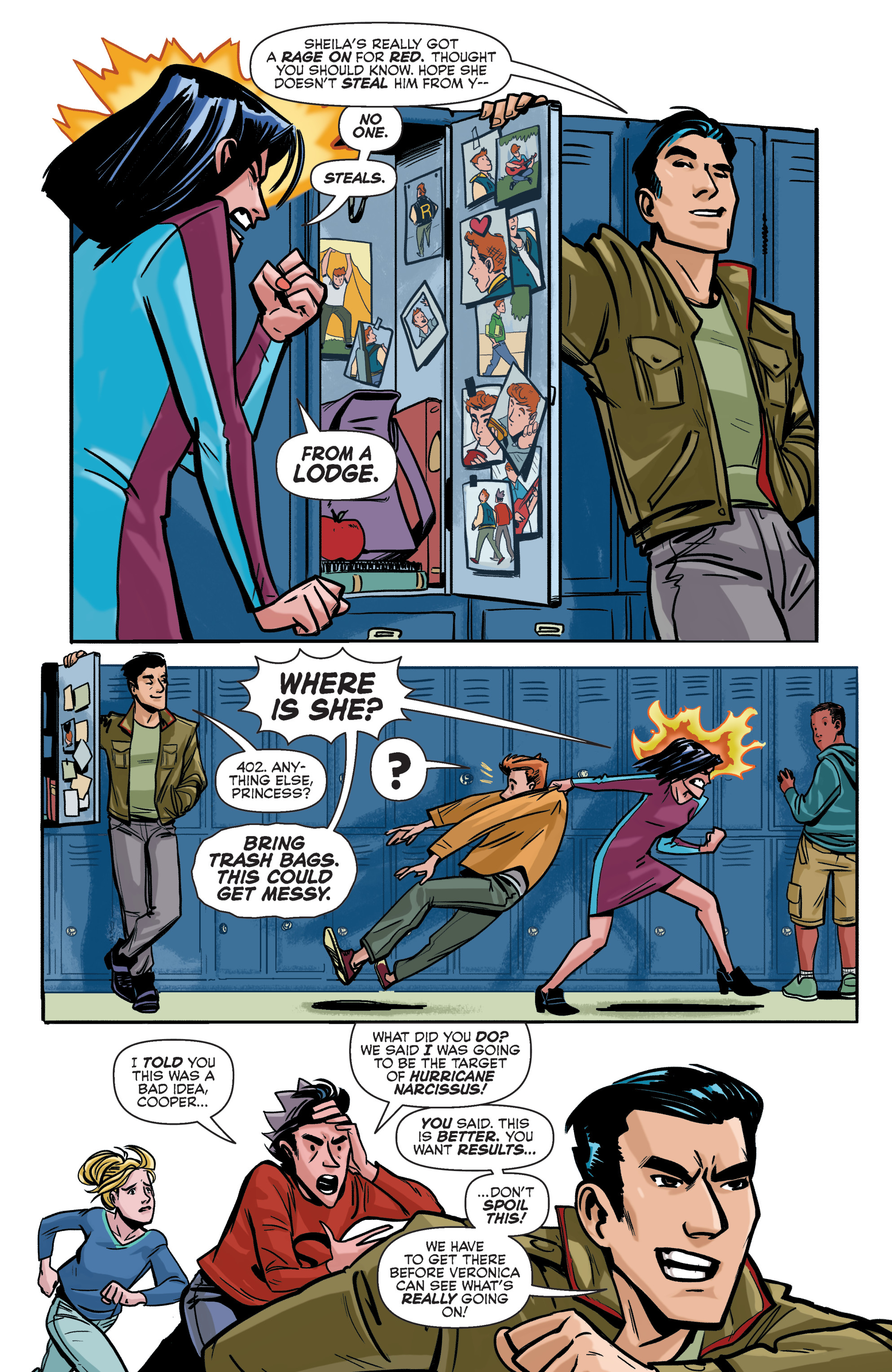 Read online Archie (2015) comic -  Issue #5 - 16
