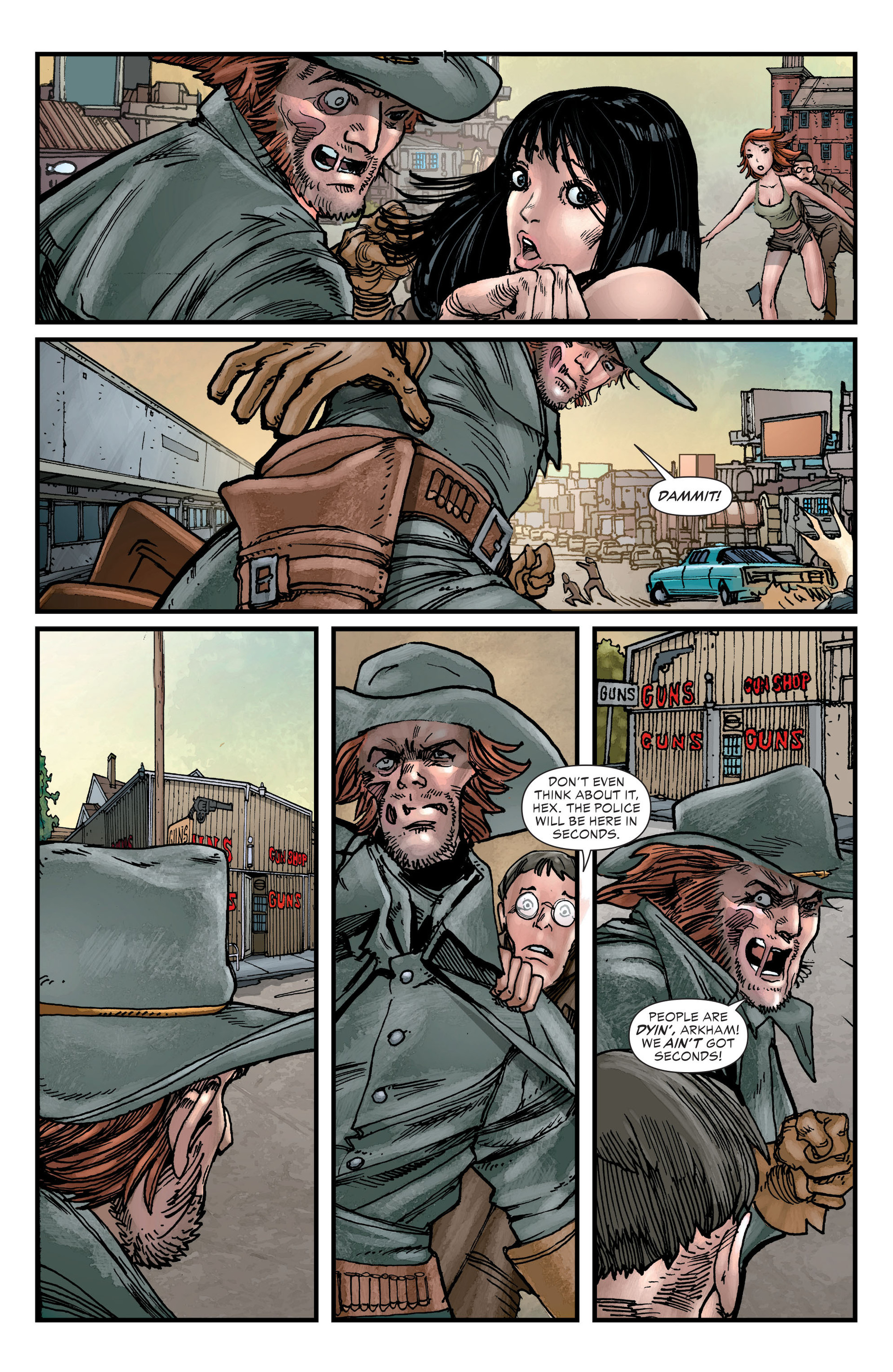 Read online All-Star Western (2011) comic -  Issue #23 - 21