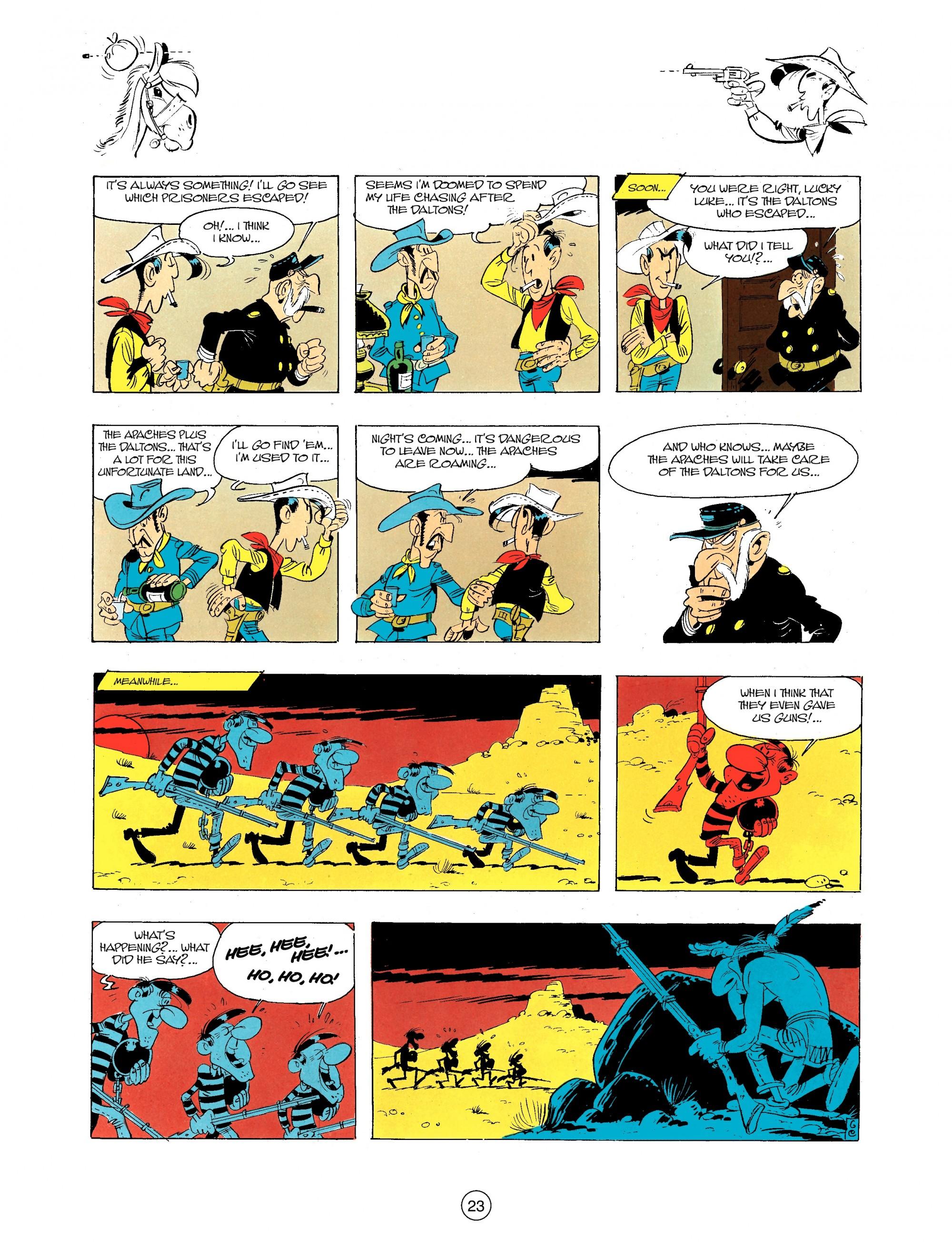 Read online A Lucky Luke Adventure comic -  Issue #34 - 23