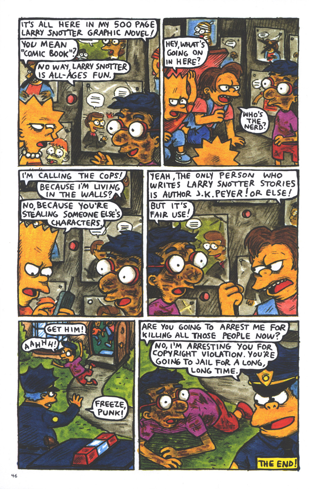 Read online Treehouse of Horror comic -  Issue #15 - 49