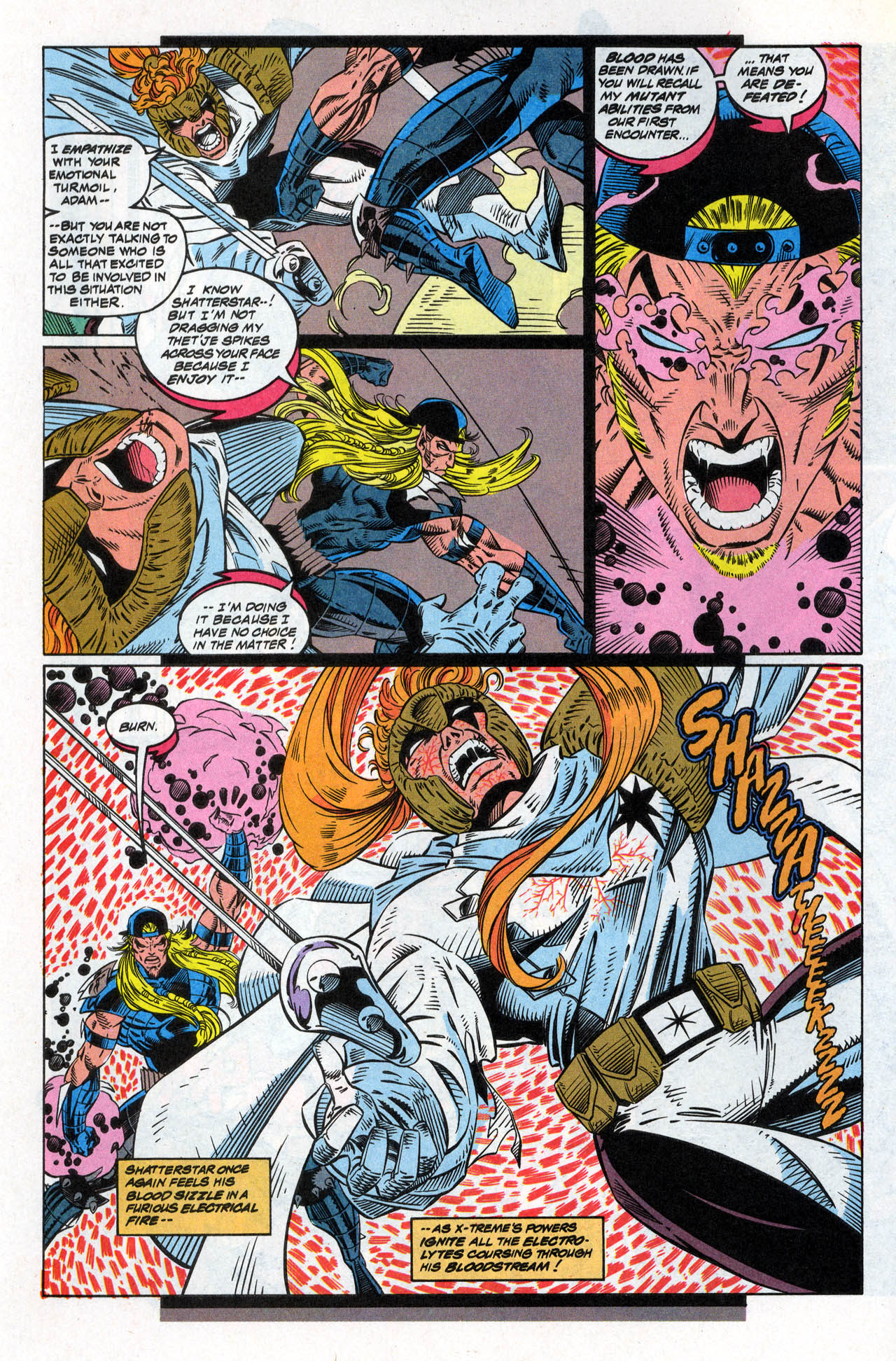 Read online X-Force (1991) comic -  Issue #30 - 5
