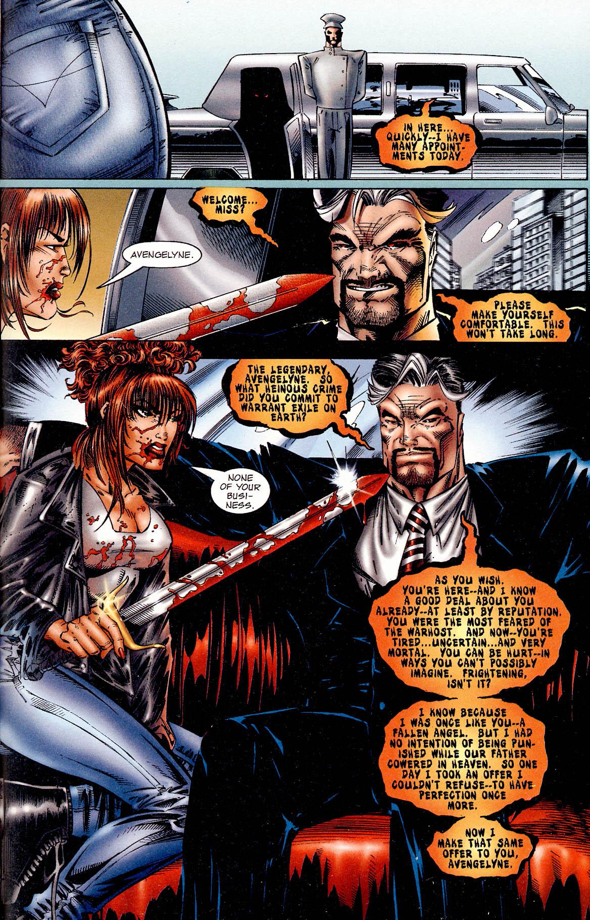 Read online Avengelyne (1995) comic -  Issue #1 - 21