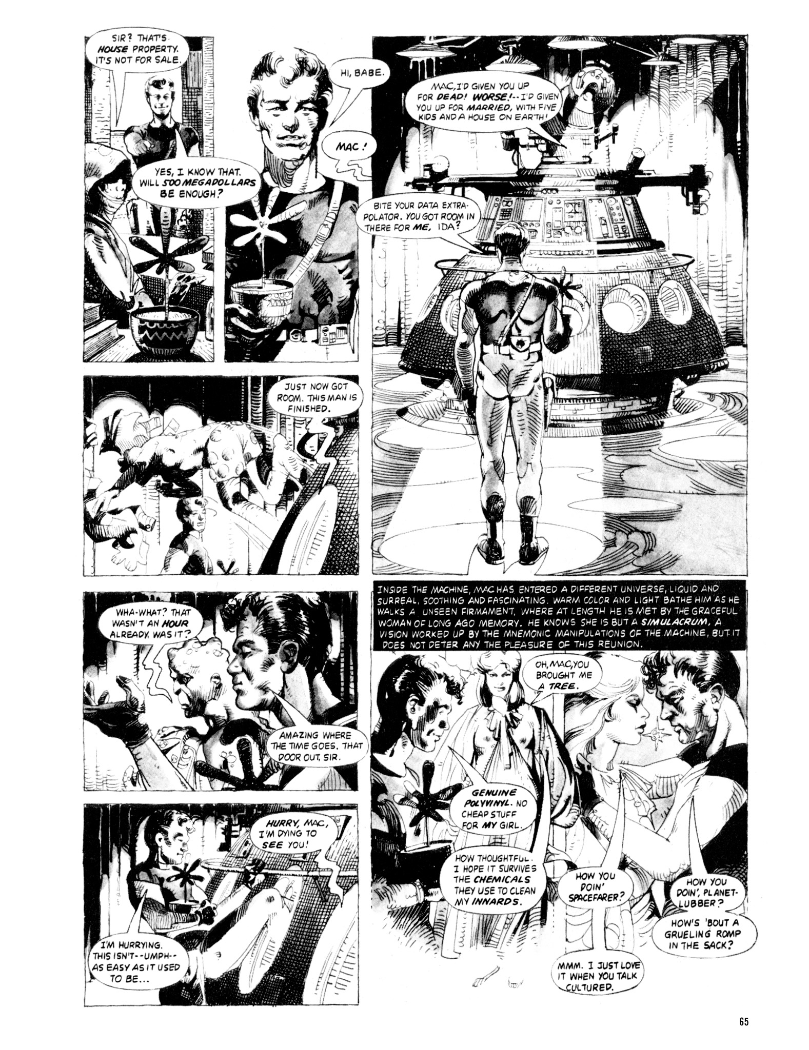 Read online Eerie Archives comic -  Issue # TPB 20 - 65