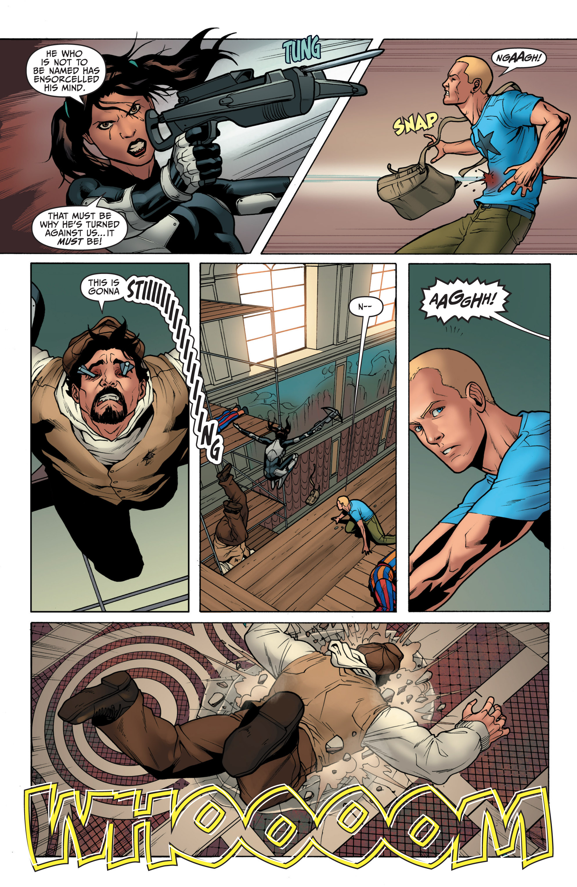 Read online Archer and Armstrong comic -  Issue #3 - 21