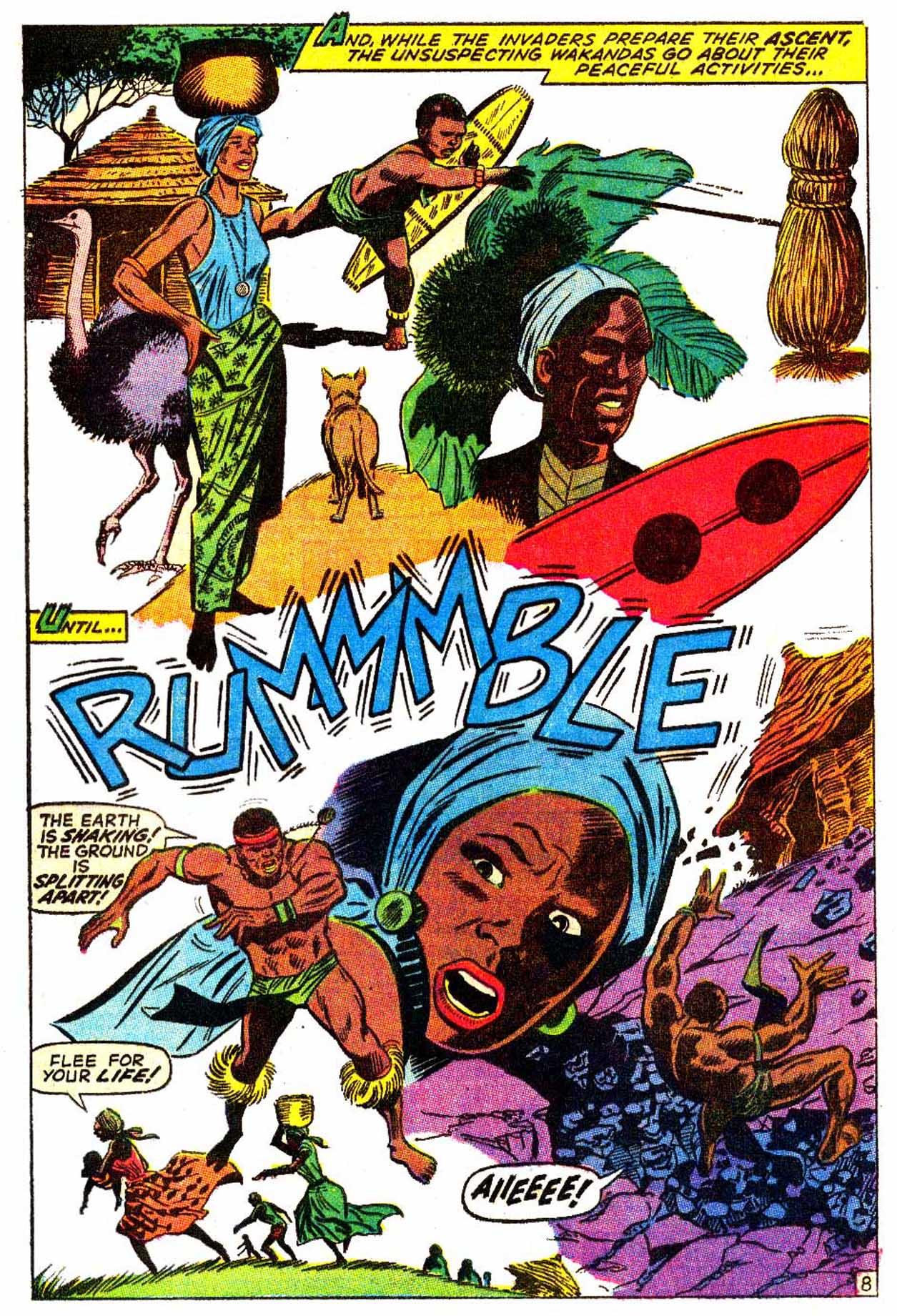 Read online Astonishing Tales (1970) comic -  Issue #6 - 9