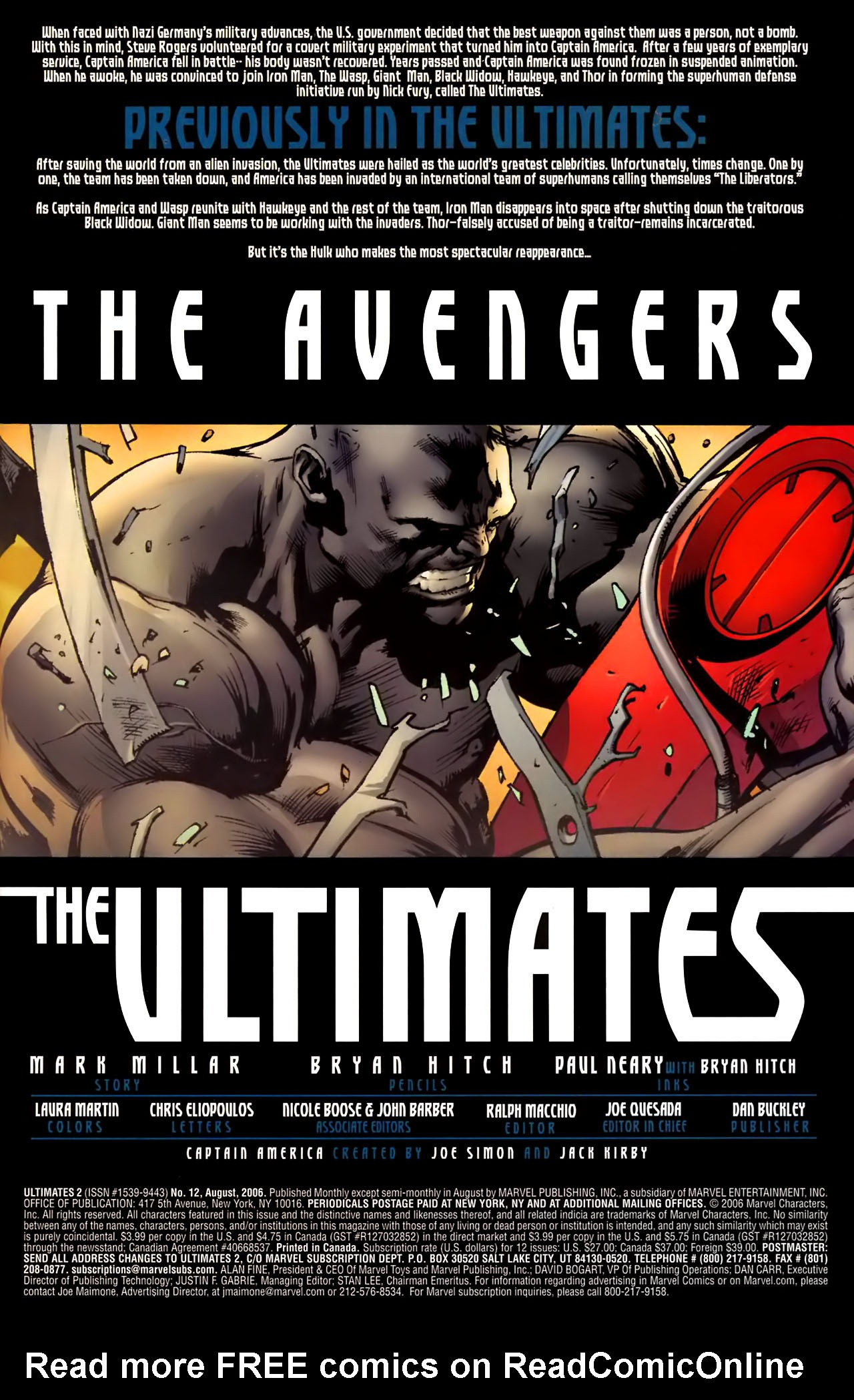 Read online Ultimates 2 comic -  Issue #12 - 3