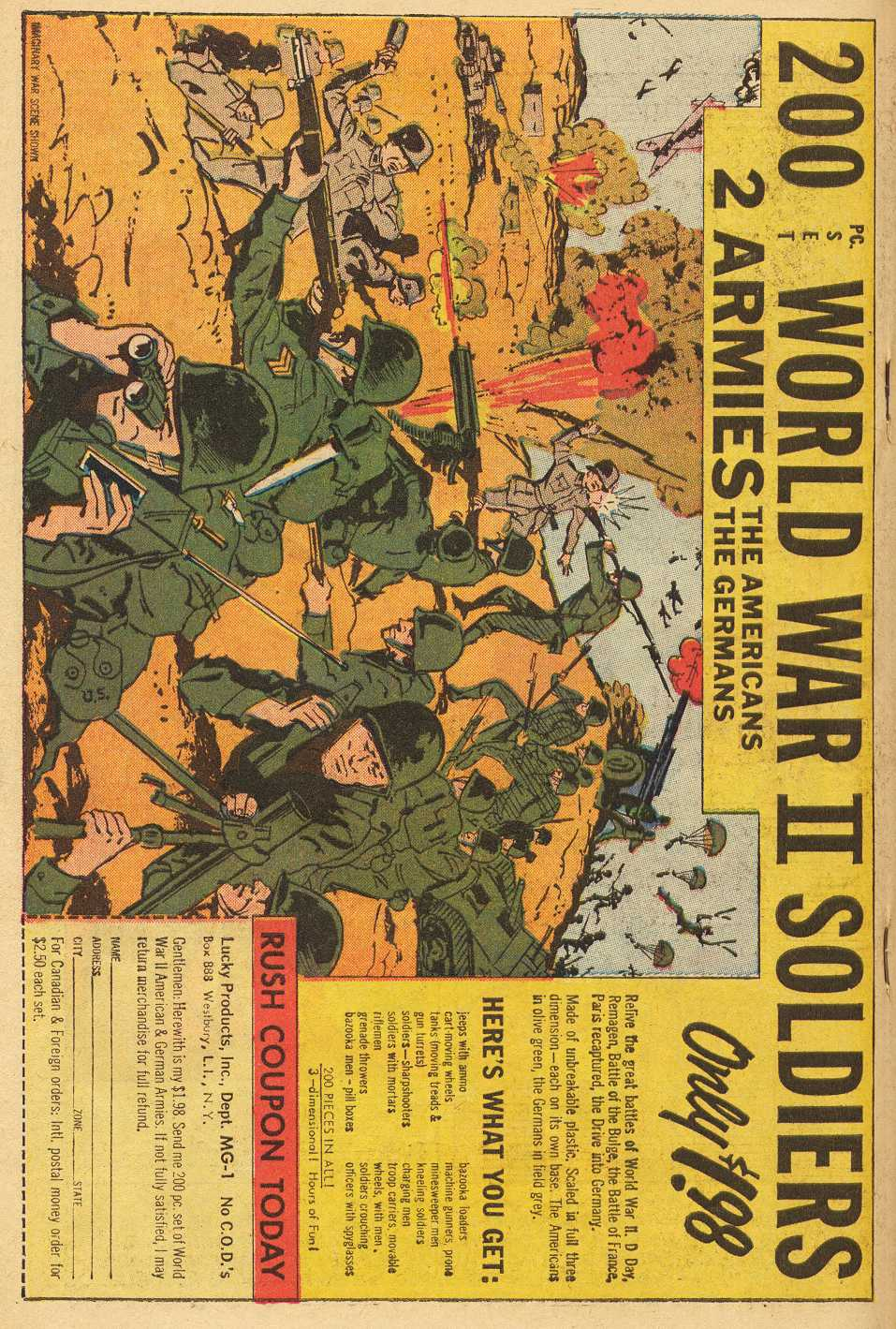 Read online Sgt. Fury comic -  Issue # _Special 2 - 66