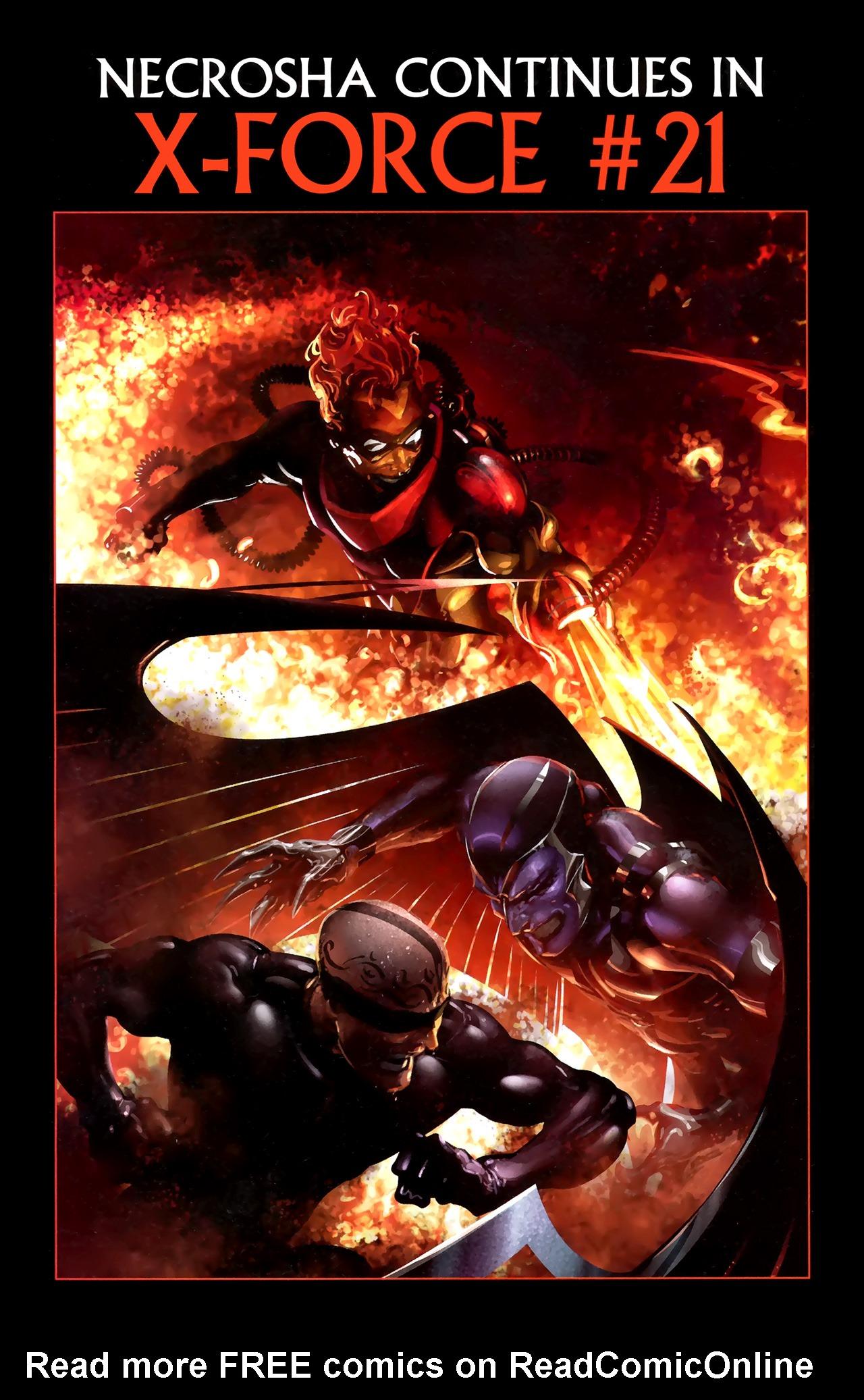 Read online X Necrosha comic -  Issue # Full - 50