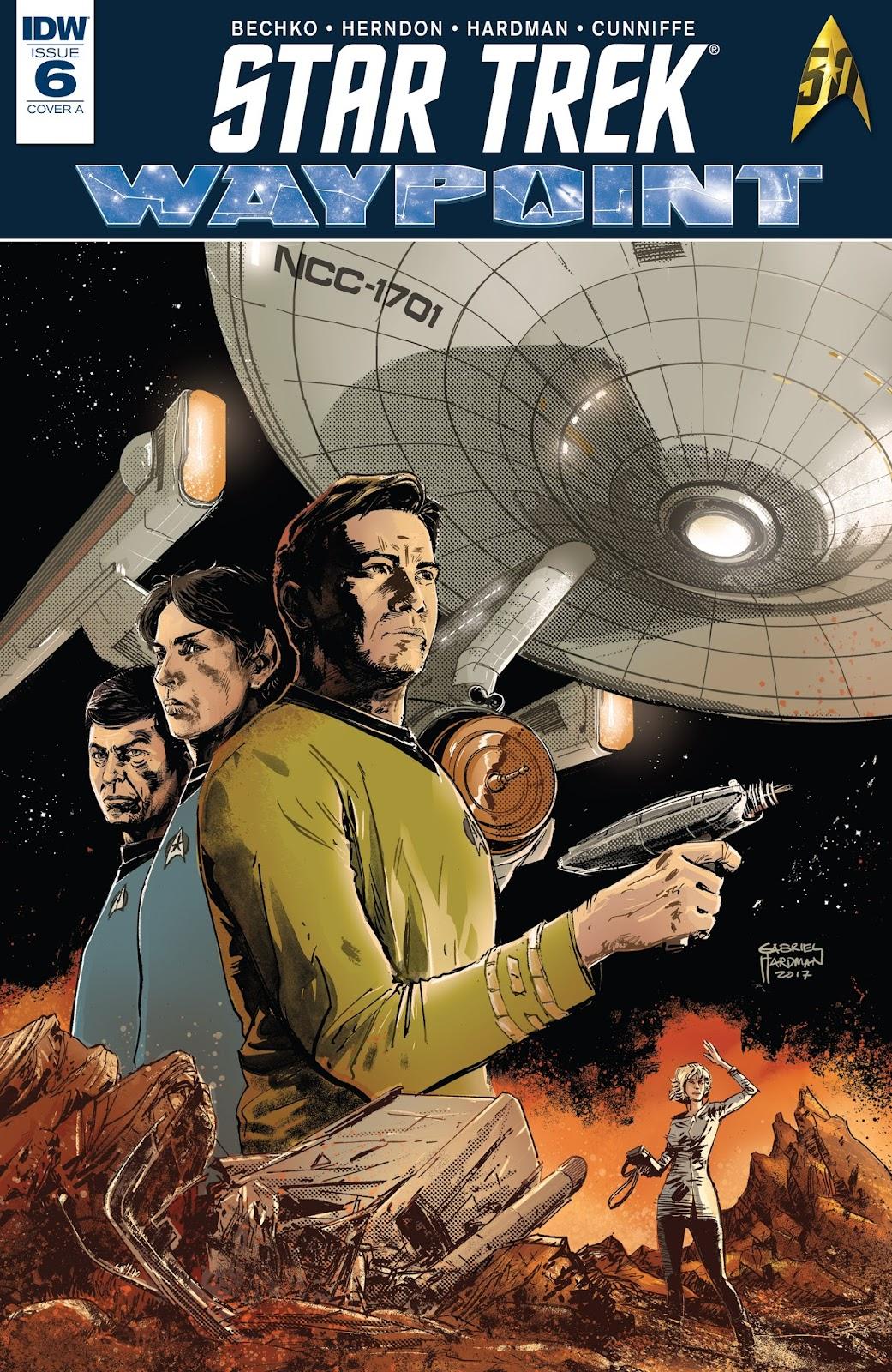 Star Trek: Waypoint 6 Page 1