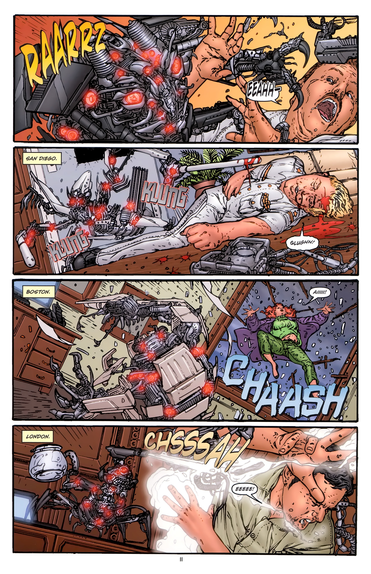 Read online Transformers: Nefarious comic -  Issue #5 - 14
