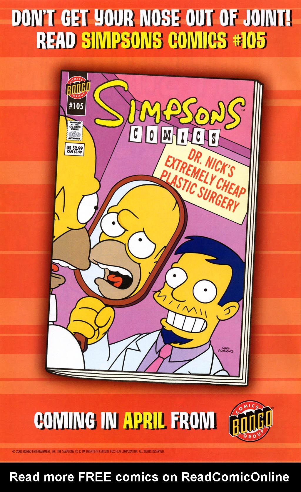 Read online Simpsons Comics Presents Bart Simpson comic -  Issue #23 - 2