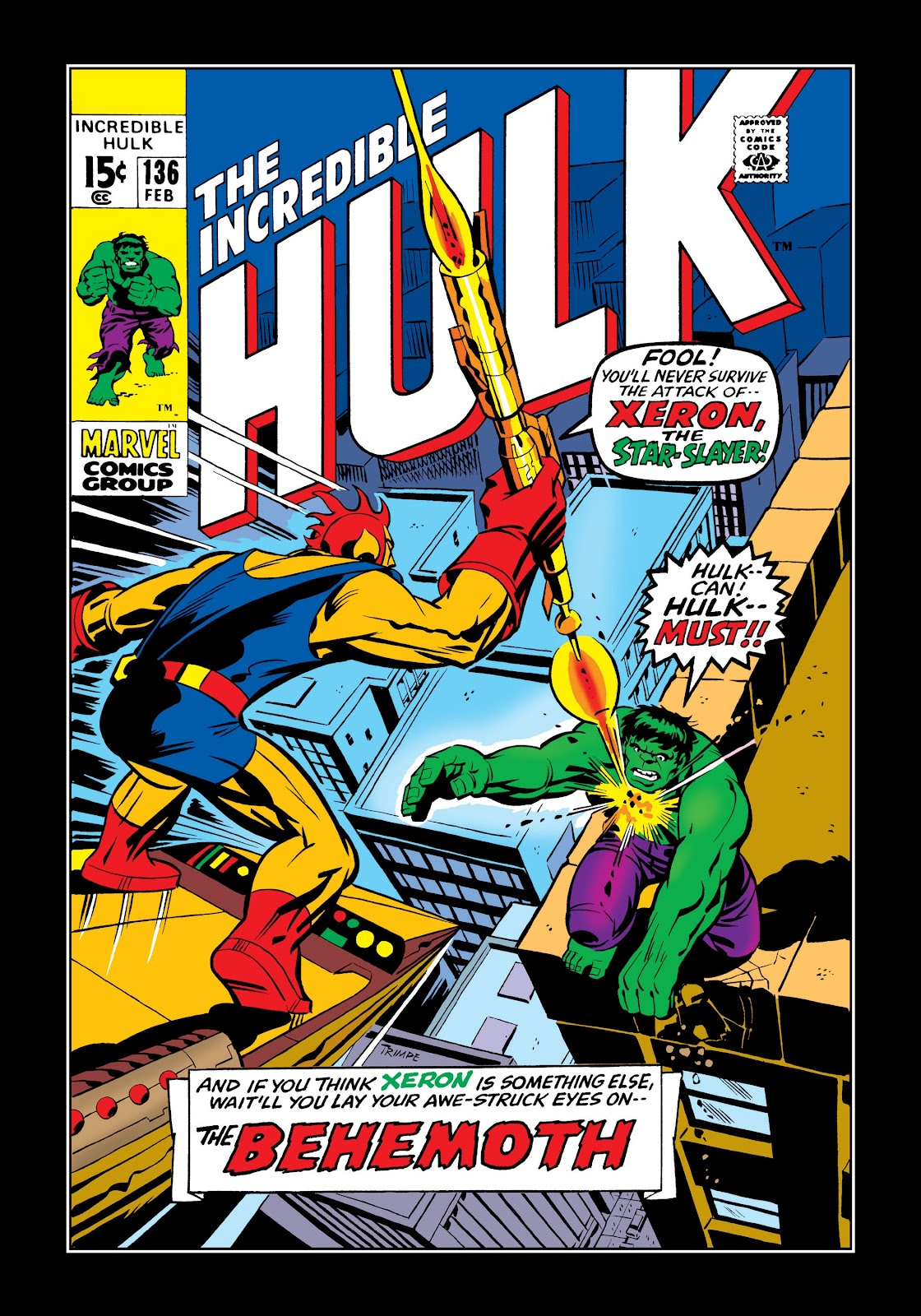 Read online Marvel Masterworks: The Incredible Hulk comic -  Issue # TPB 7 (Part 1) - 27