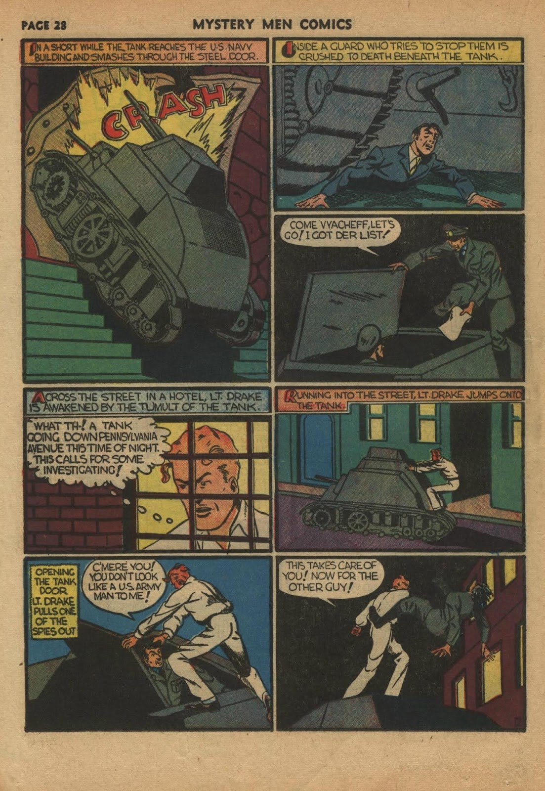 Mystery Men Comics issue 24 - Page 30