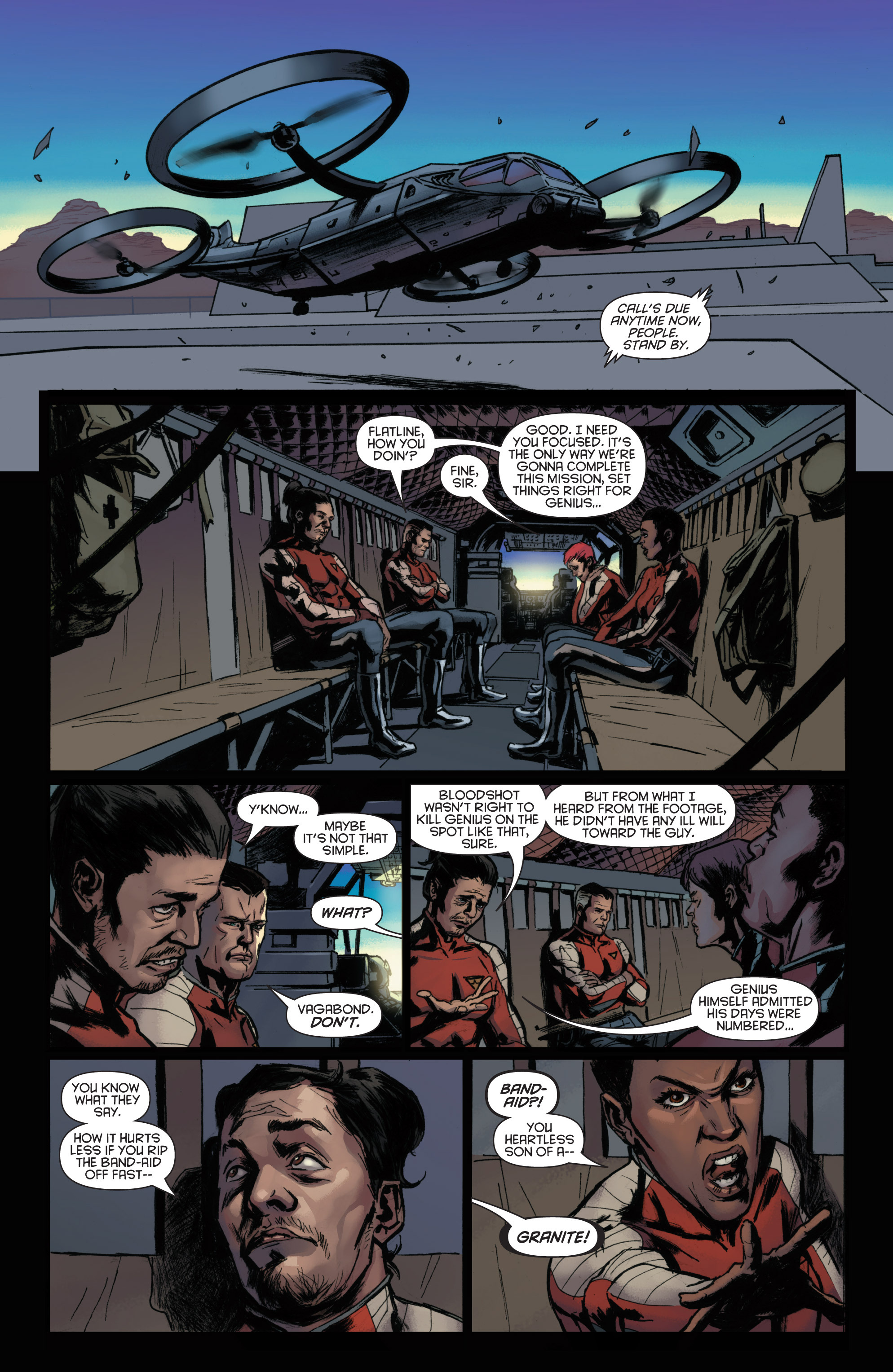 Read online Bloodshot and H.A.R.D.Corps comic -  Issue #22 - 14