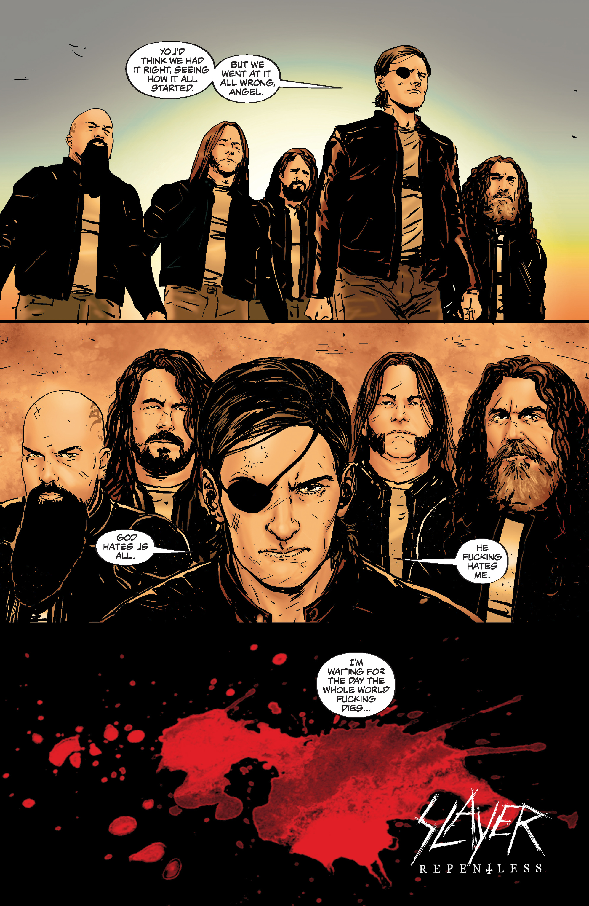 Read online Slayer: Repentless comic -  Issue #3 - 24