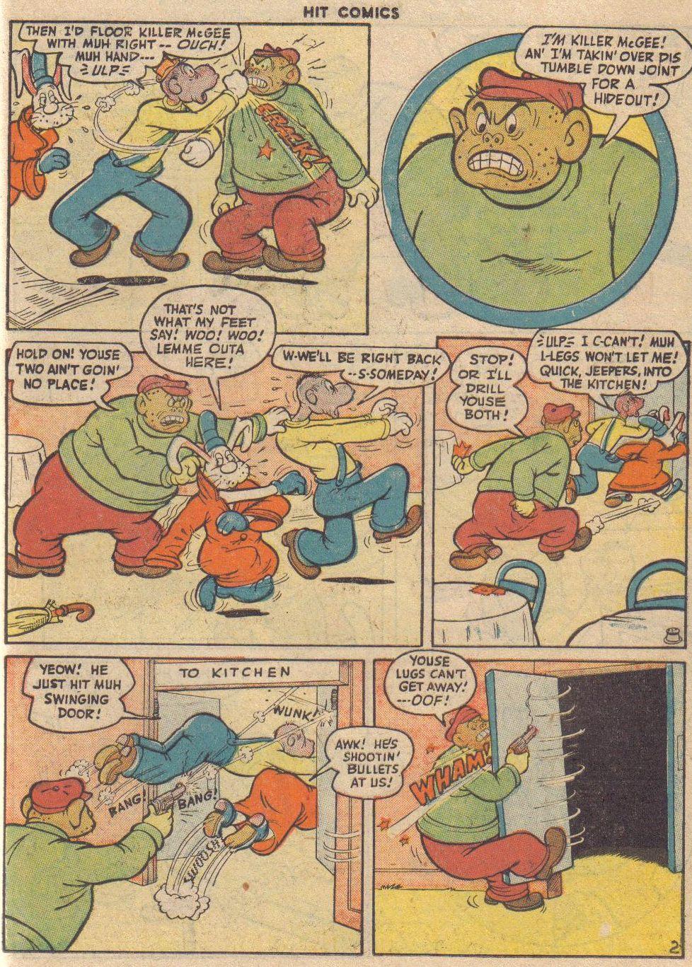 Read online Hit Comics comic -  Issue #45 - 48