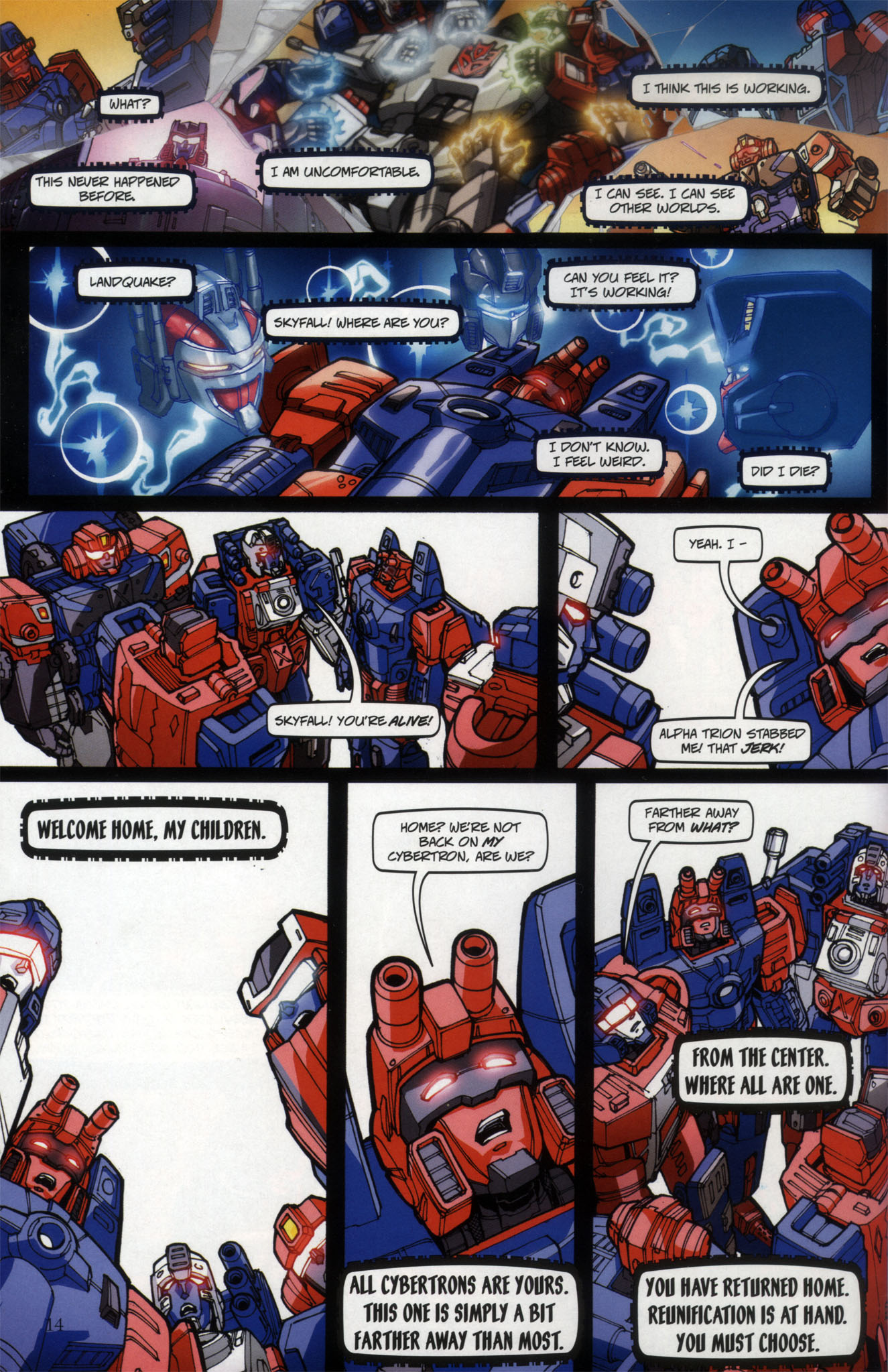 Read online Transformers: Collectors' Club comic -  Issue #29 - 14