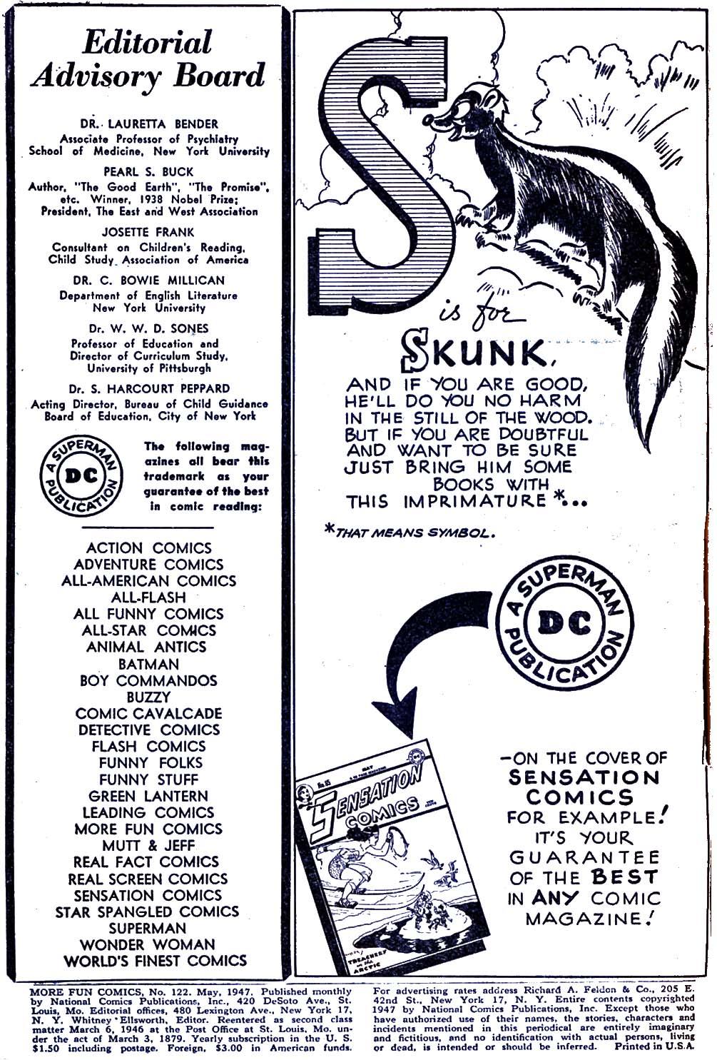 More Fun Comics 122 Page 2