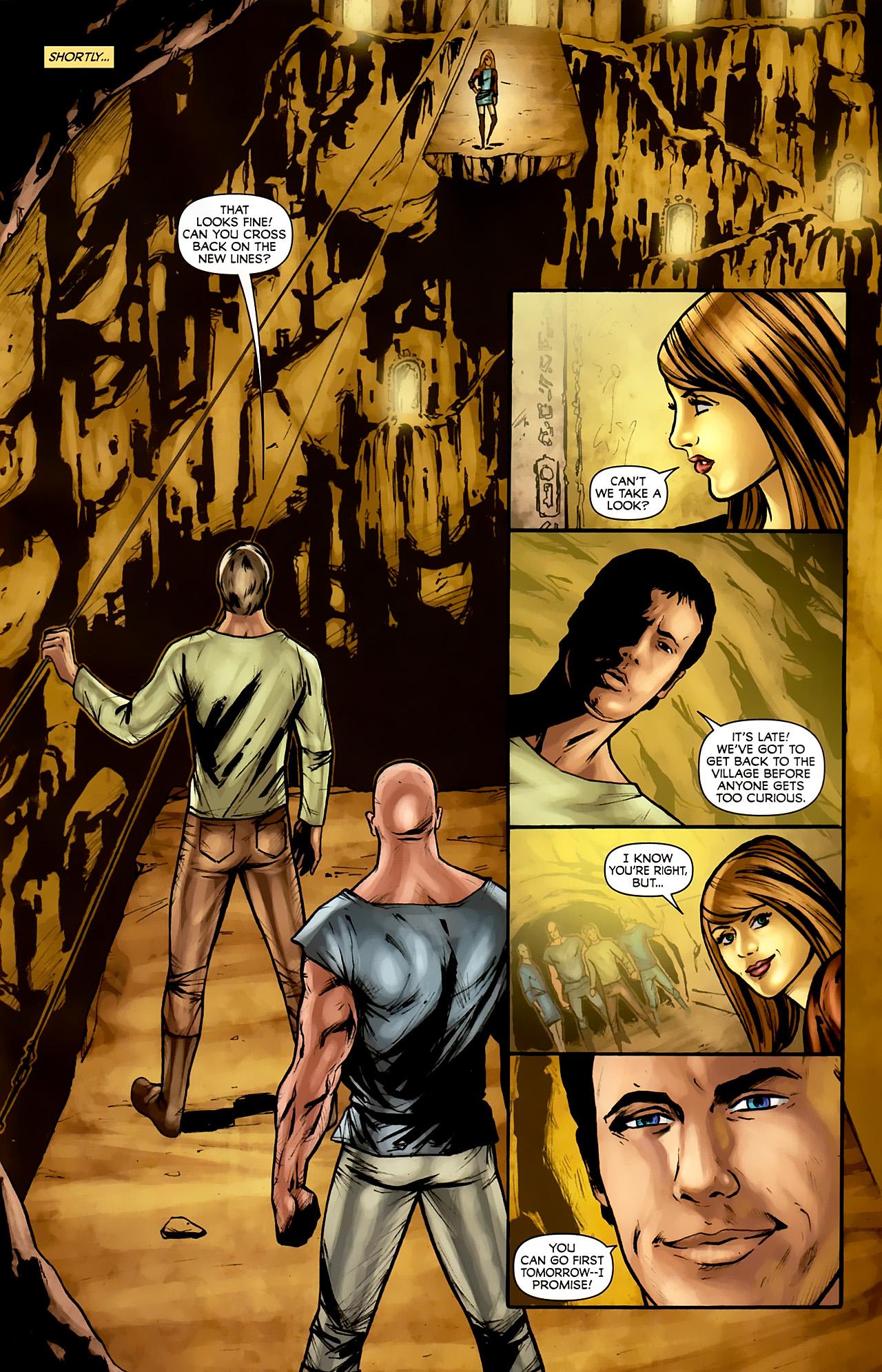 Read online Stargate: Daniel Jackson comic -  Issue #3 - 17