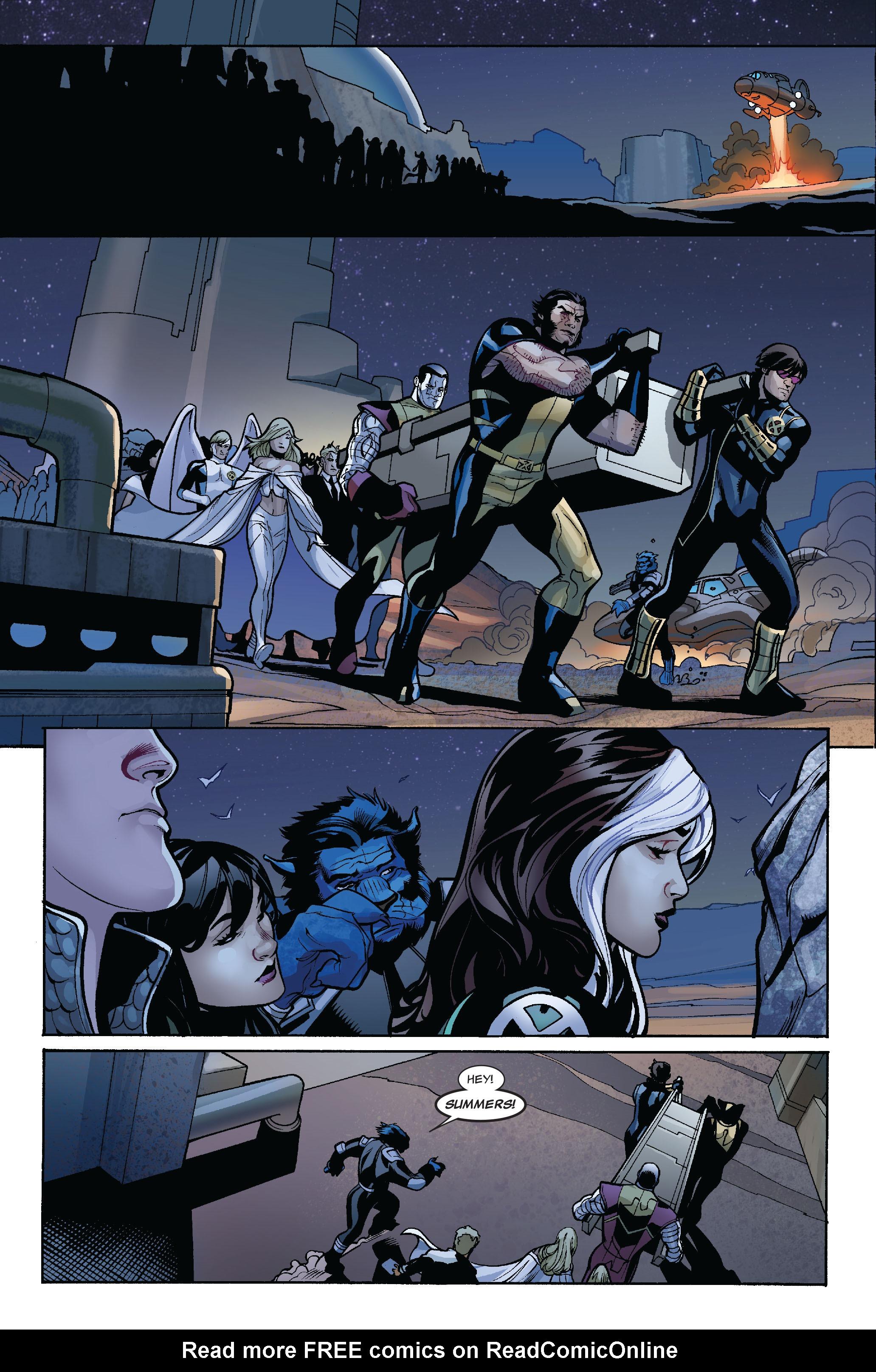 Read online Uncanny X-Men (1963) comic -  Issue #524 - 18