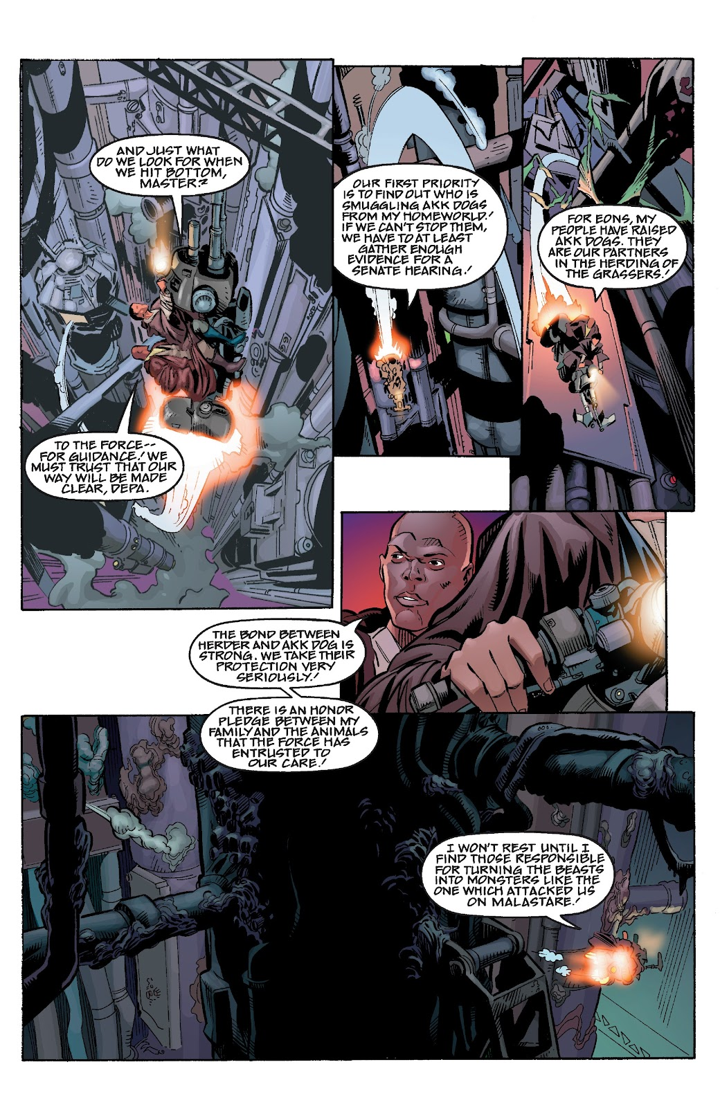 Read online Star Wars Legends Epic Collection: The Menace Revealed comic -  Issue # TPB (Part 4) - 56