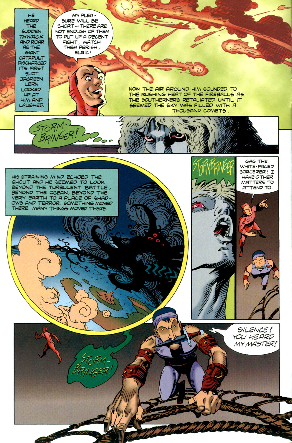 Read online Elric: Stormbringer comic -  Issue #4 - 4